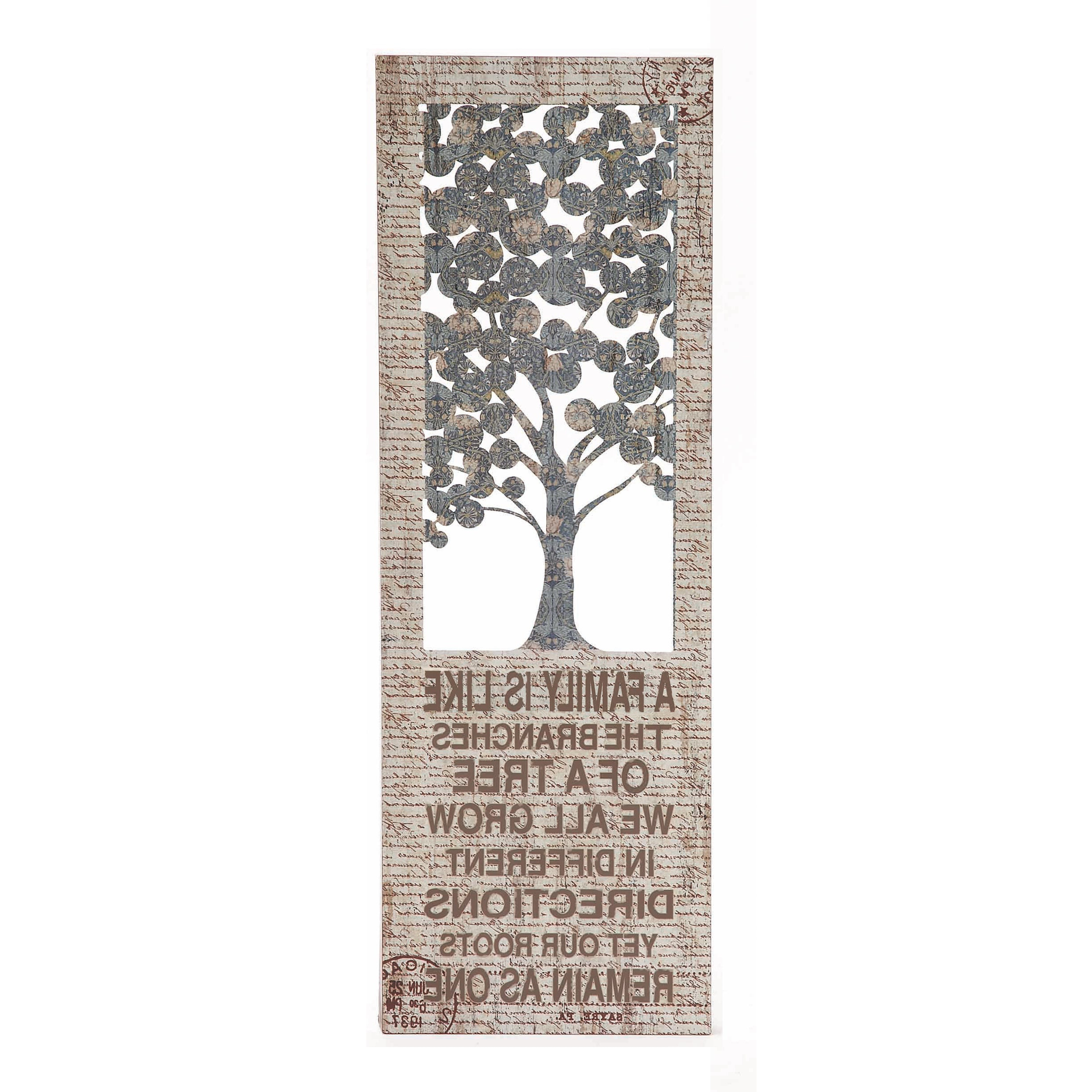 Family Themed Creative Metal Wall Decor Intended For Popular Family Themed Creative Metal Wall Décor (View 2 of 20)