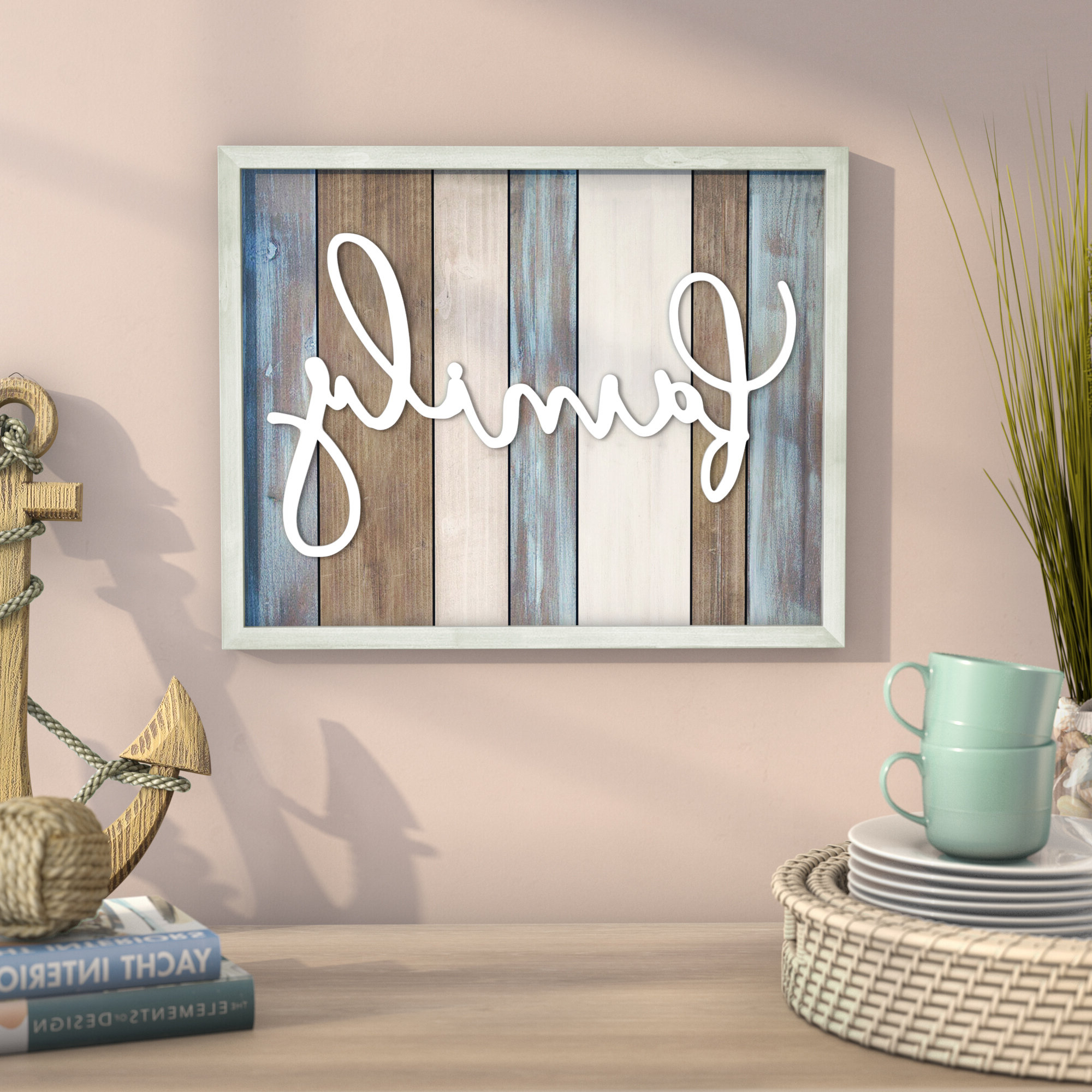 Featured Photo of Family Wood Wall Décor By Highland Dunes