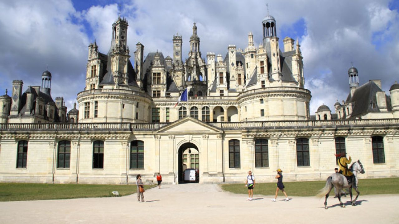Famous Chambord Castle I European Wall Hangings Intended For Brief History Of Château De Chambord (View 13 of 20)