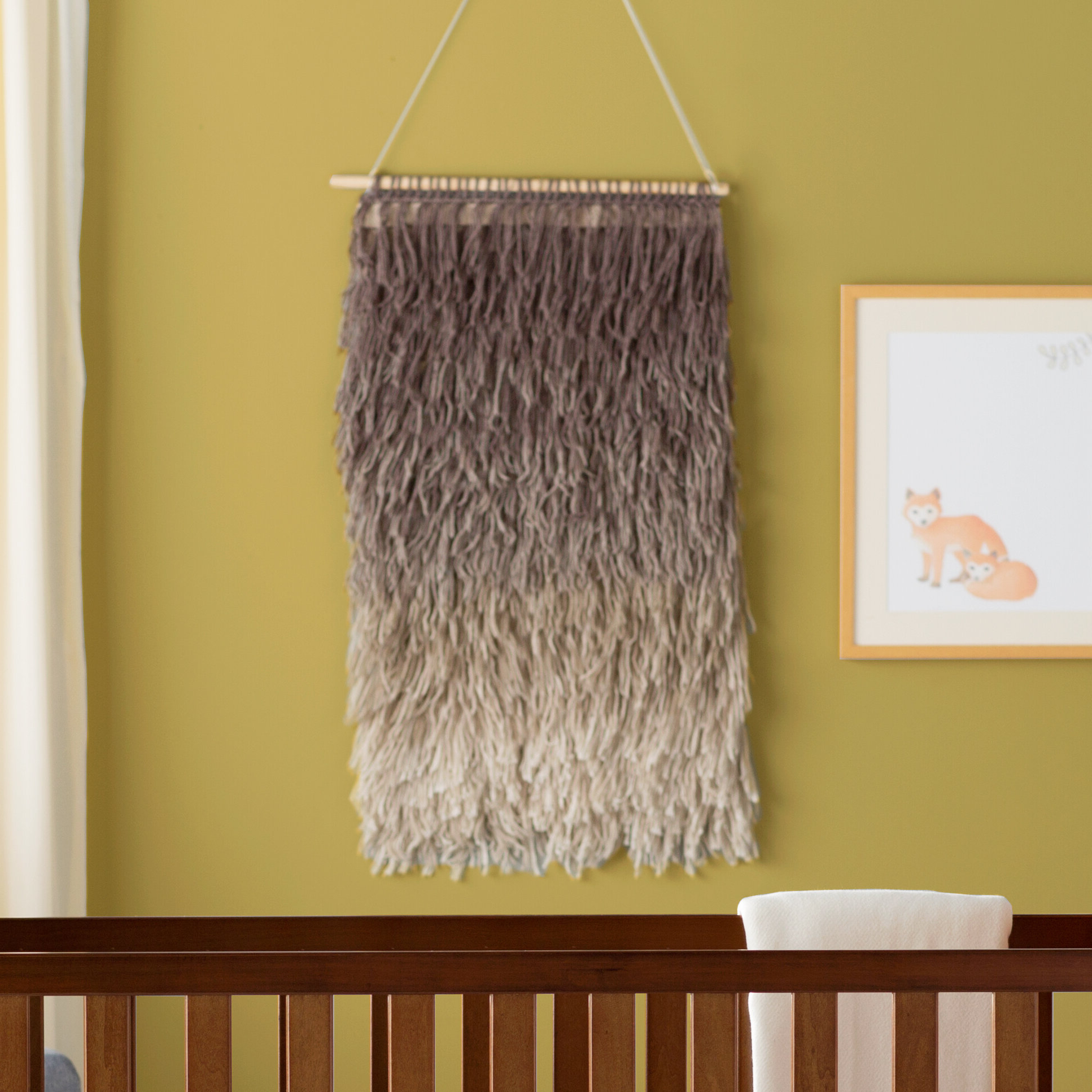 Famous Cotton Destrie Wall Hanging With Rod Included Intended For Blended Fabric Saiful Wall Hangings With Rod (View 17 of 20)