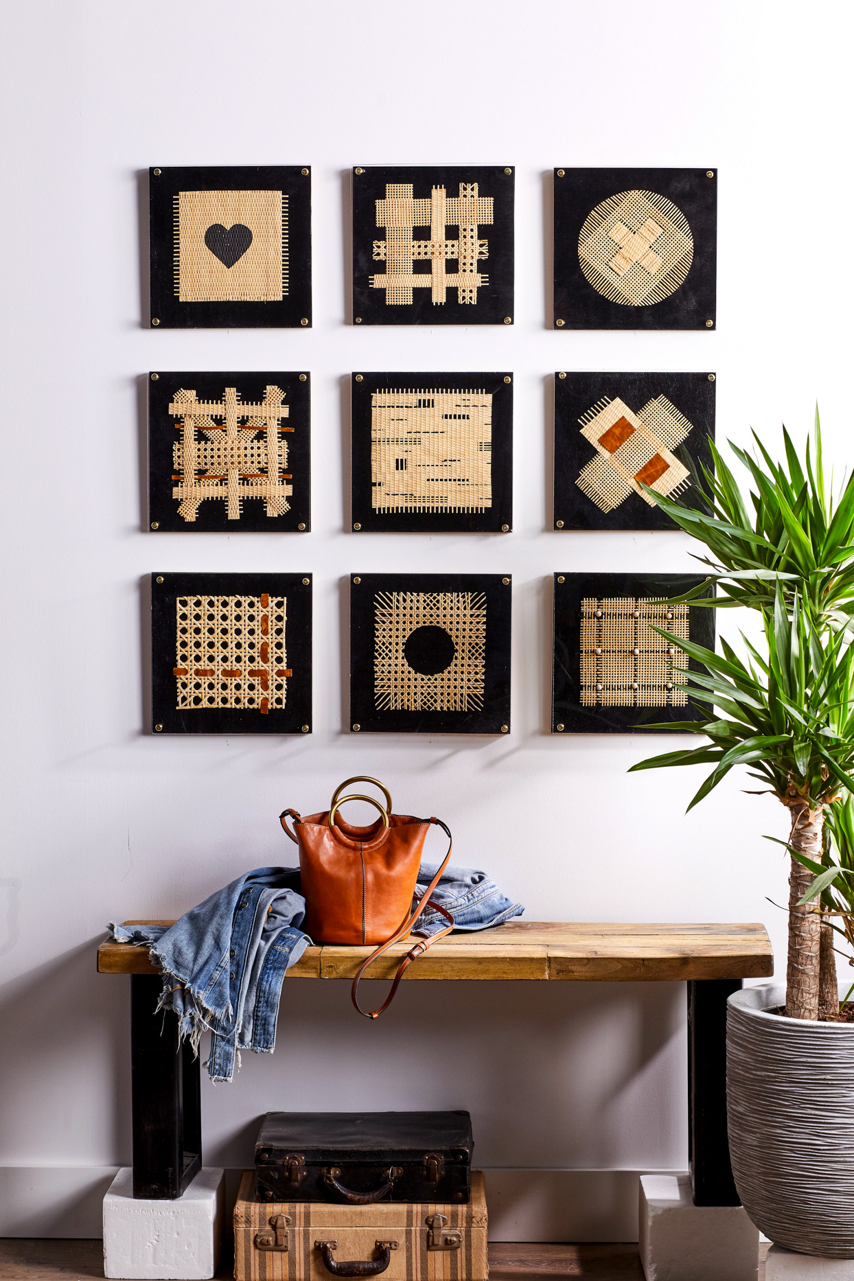 Famous Creative Wall Art Ideas For Every Blank Spot In Your Home Regarding This Is My Happy Place Sectioned Wall Decor (View 12 of 20)