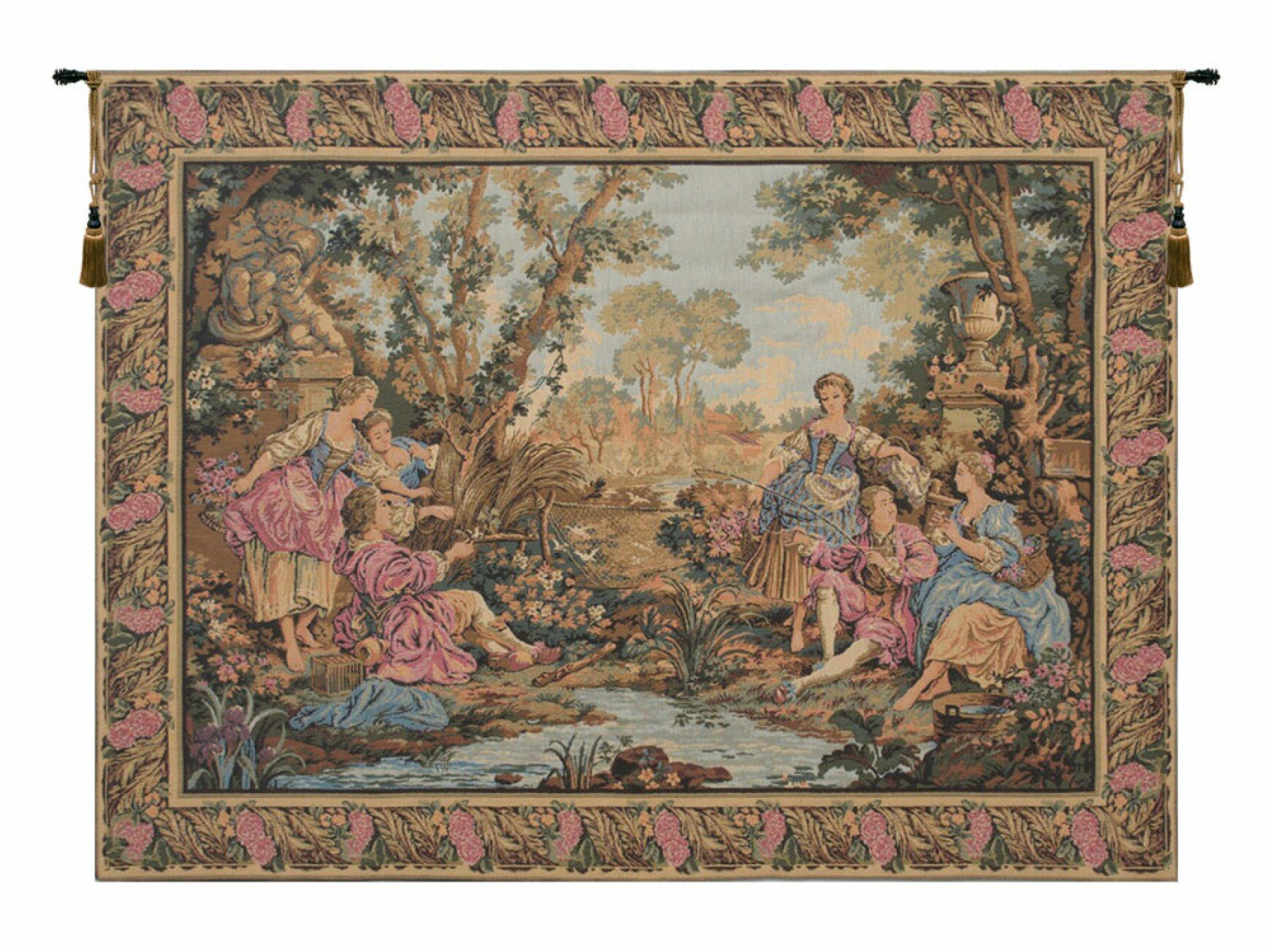 Featured Photo of Blended Fabric Gallanteries European Wall Hangings