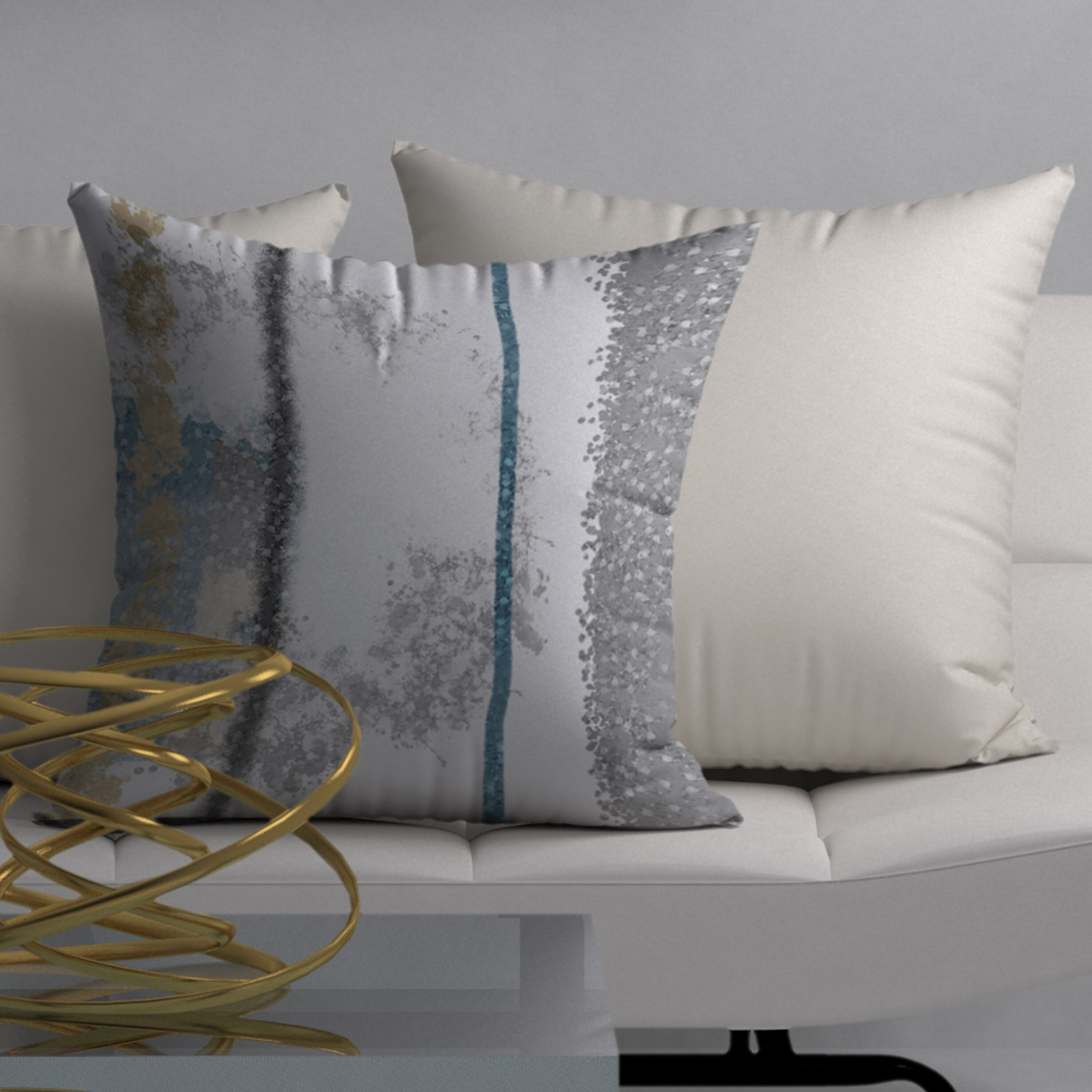 Famous Graceful Wall Décor By Orren Ellis In Giggle Graceful Square Pillow Cover & Insert (View 8 of 20)