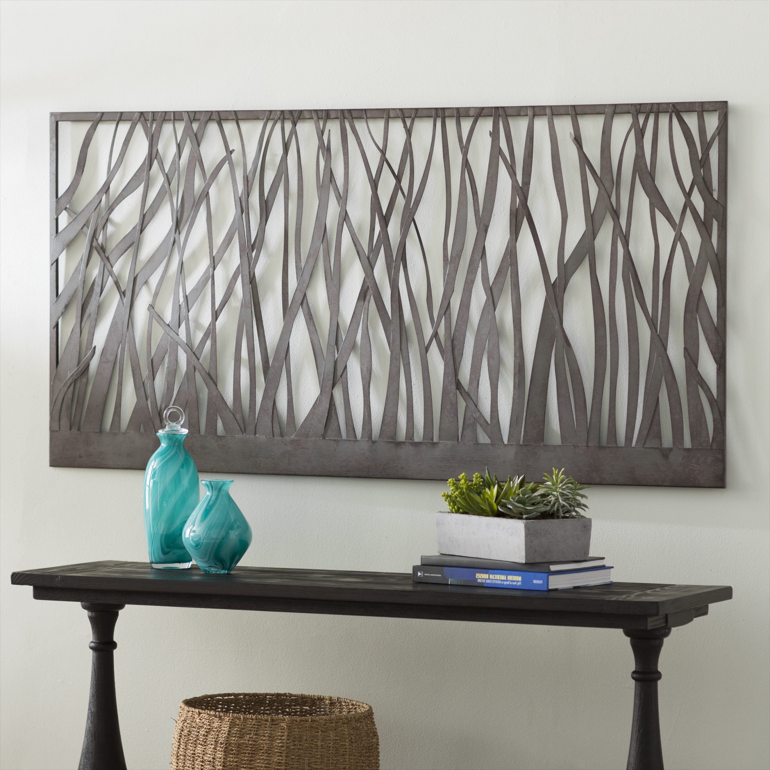 Featured Photo of Olive/Gray Metal Wall Decor By Brayden Studio