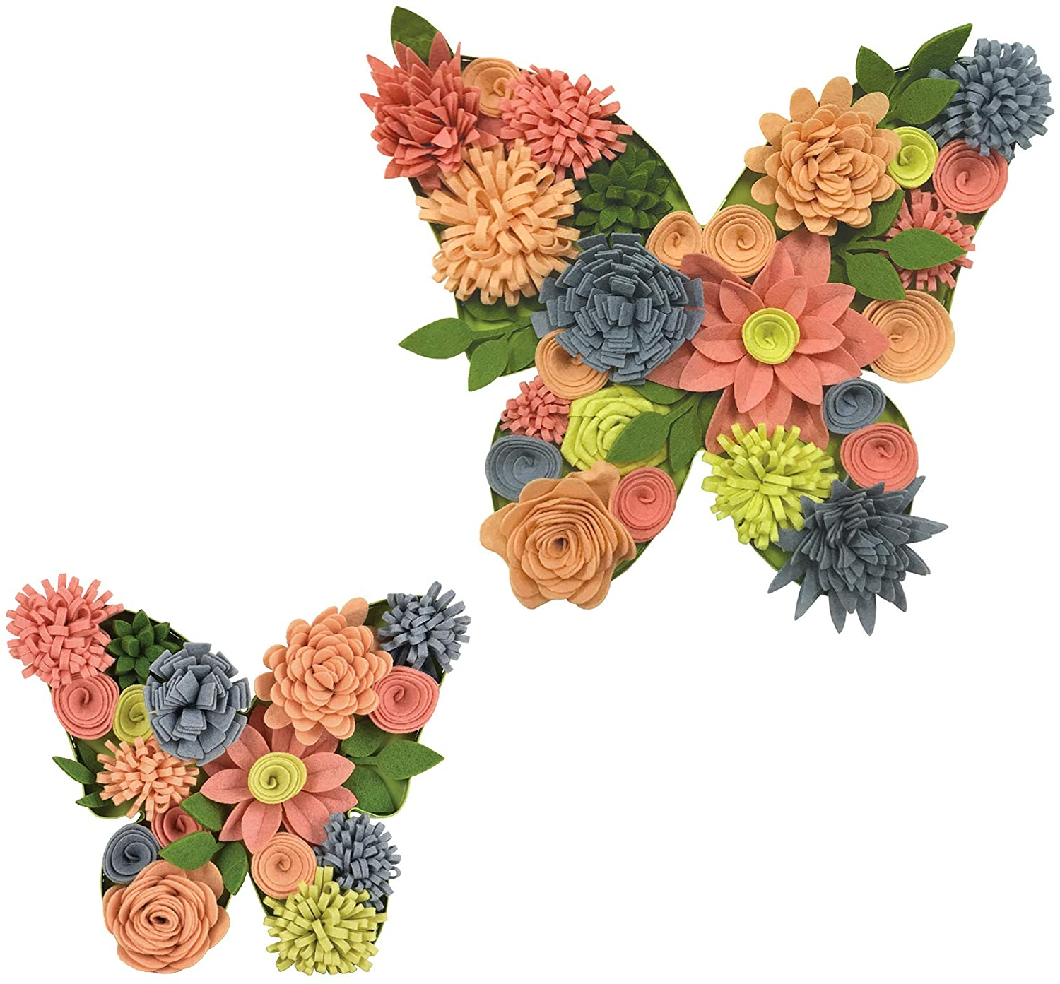 Famous Multicolored Butterfly Bouquet Wall Décor With Regard To Amazon: Wall Pops Butterfly Bouquet 3d Wall Art Kit (View 2 of 20)