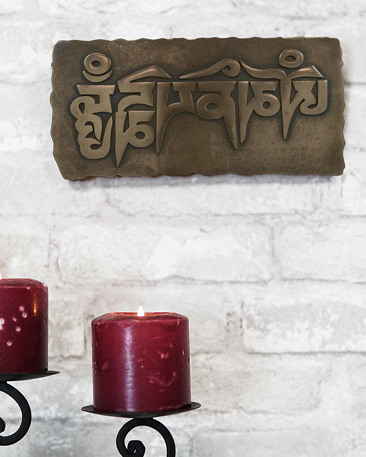 Famous Tibetan Buddhism Om Mani Padme Hum Mantra Wall Décor Regarding Mantra Do What You Love Wall Décor (View 19 of 20)
