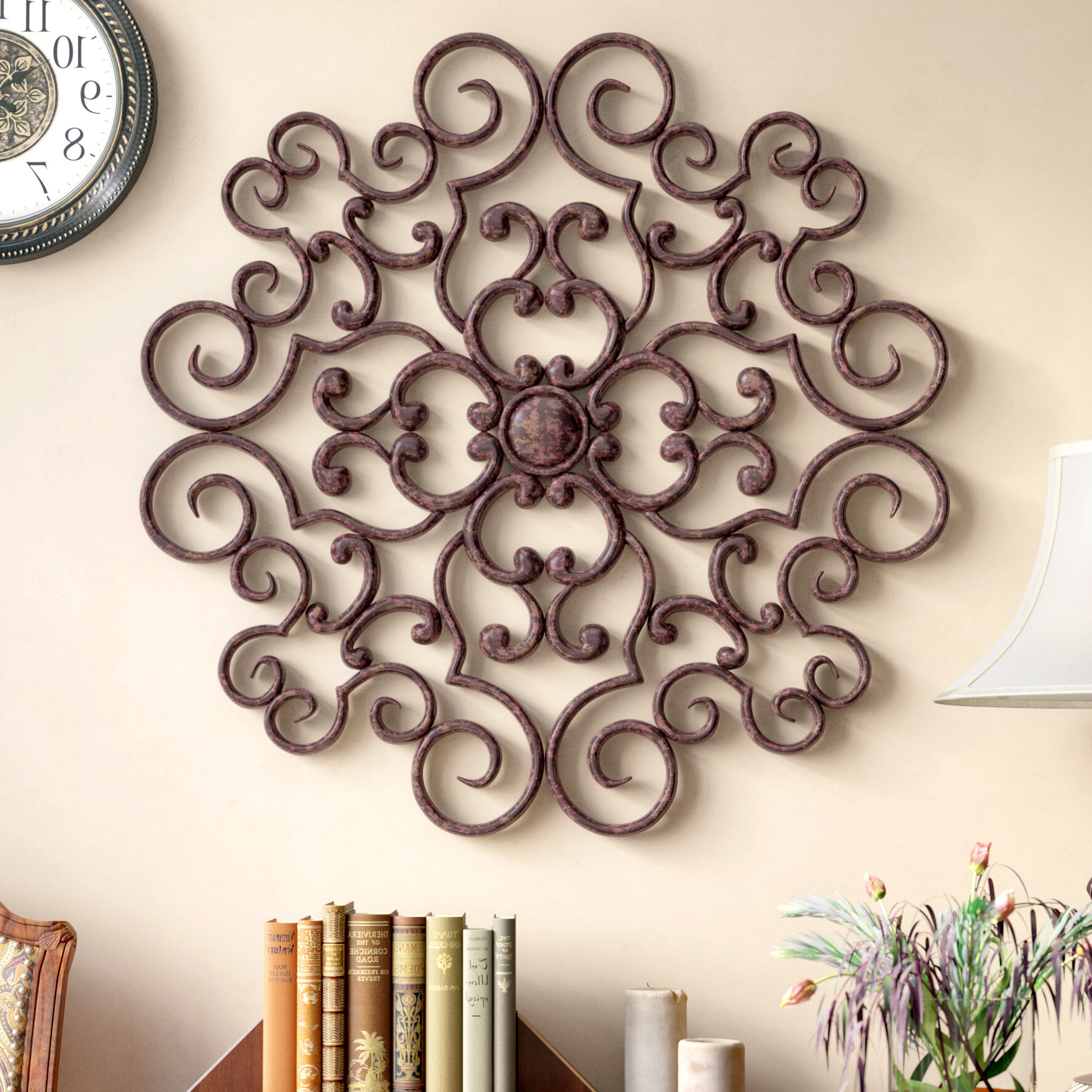Featured Photo of Traditional Metal Wall Plaque