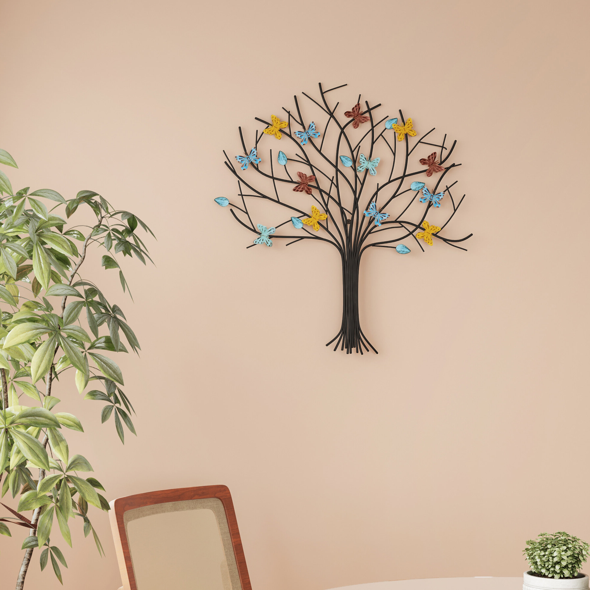 Fashionable Abstract Tree Wall Décor By Winston Porter In Tree Of Life Metal Wall Decor (View 3 of 20)