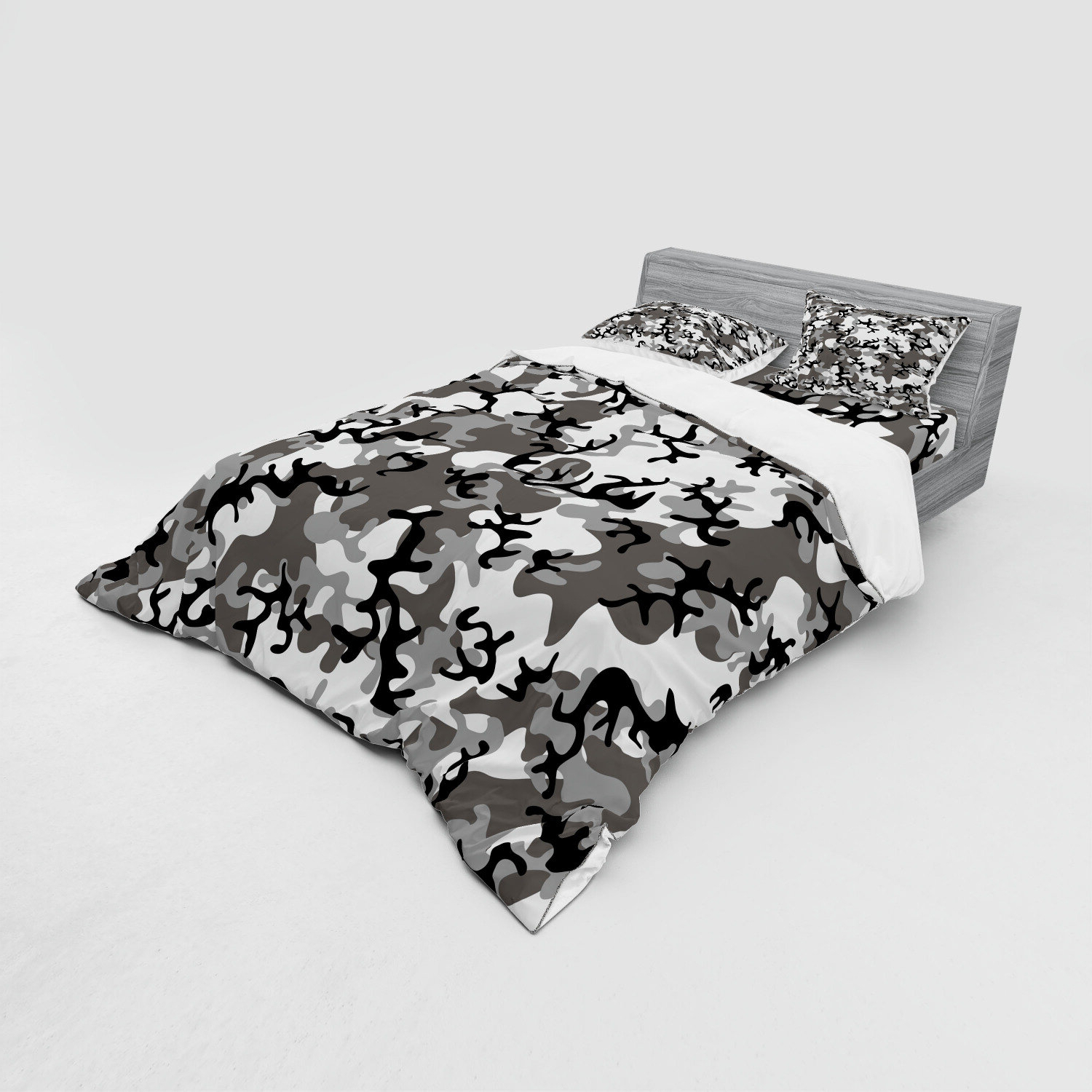 Fashionable Blended Fabric Artifice Ii Wall Hangings Inside Camo Camouflage Concept Concealment Artifice Hiding Force Uniform Fashion Duvet Cover Set (View 20 of 20)