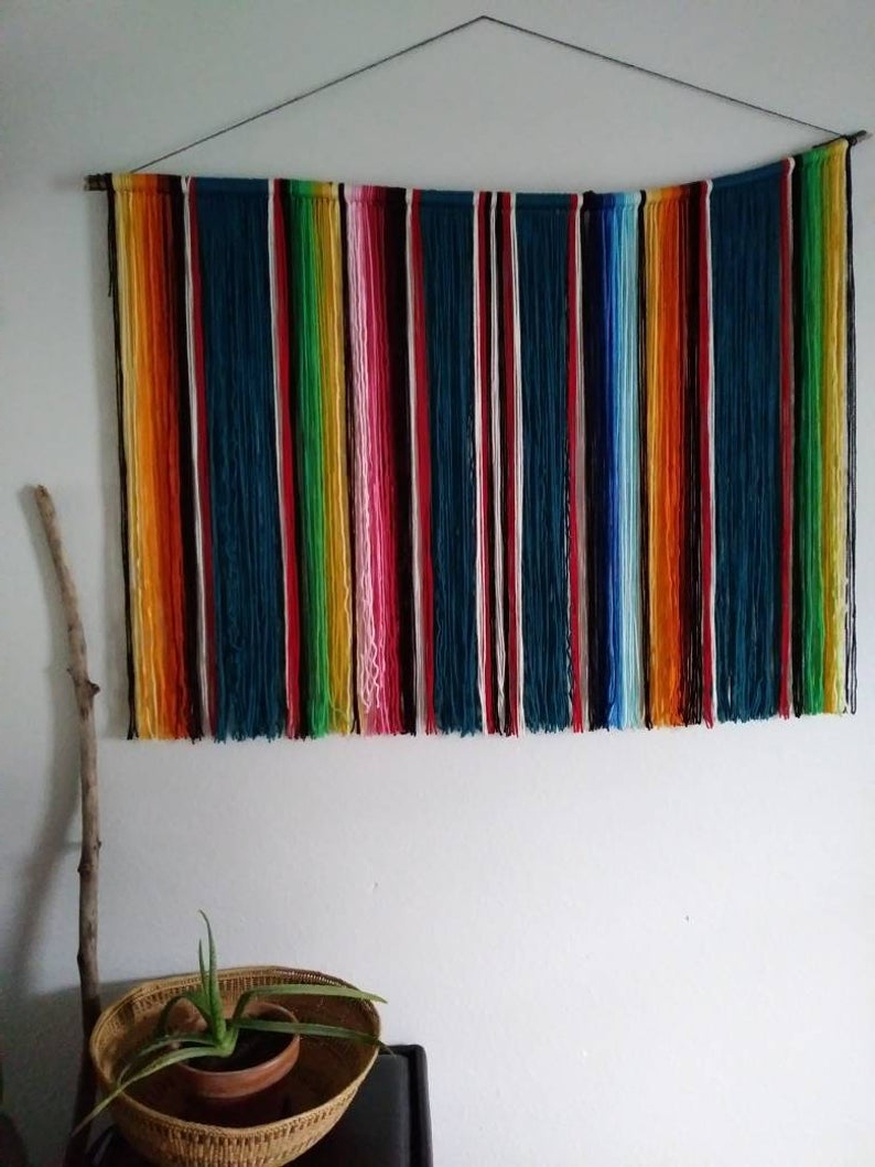 Fashionable Blended Fabric Southwestern Bohemian Wall Hangings In Taos (View 11 of 20)