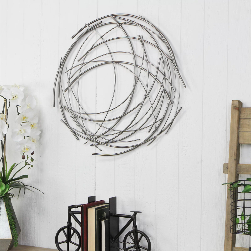 Fashionable Graceful Wall Décor By Orren Ellis For Orren Ellis Contemporary Abstract Round Wall Décor & Reviews (View 6 of 20)