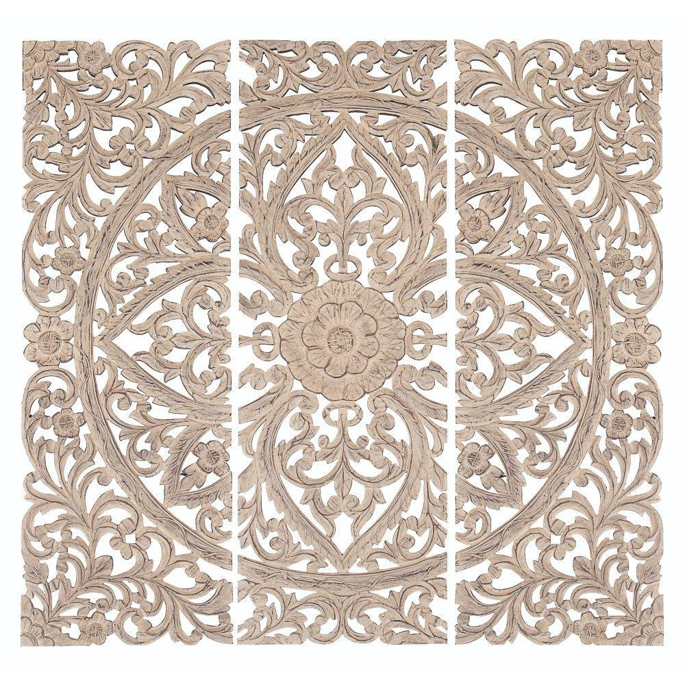 Fashionable Home Decorators Collection Jaxon 48 In. H X 16 In (View 16 of 20)