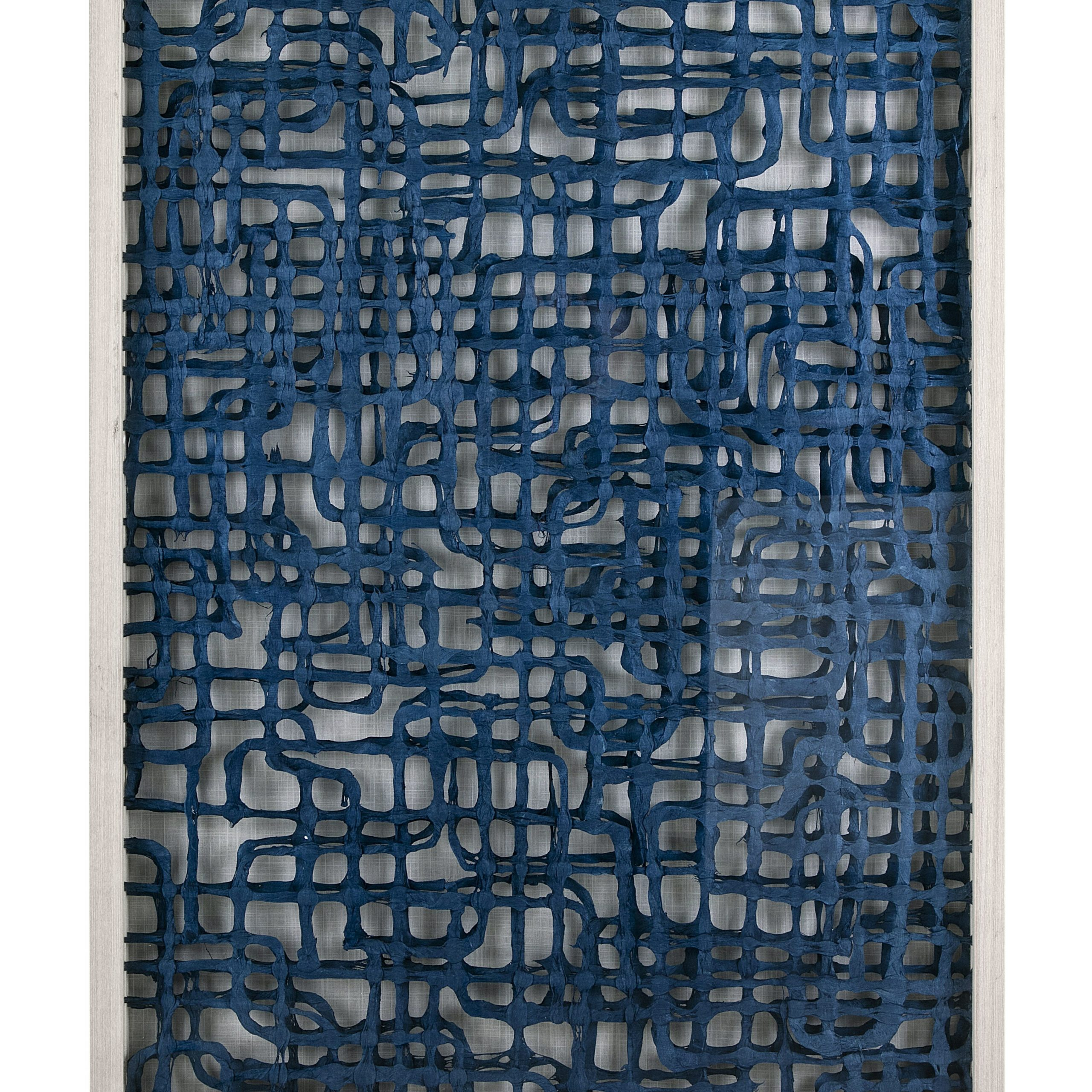 Fashionable Looped Wall Décor By Wade Logan In Blue Shadowbox Wall Décor (View 4 of 20)