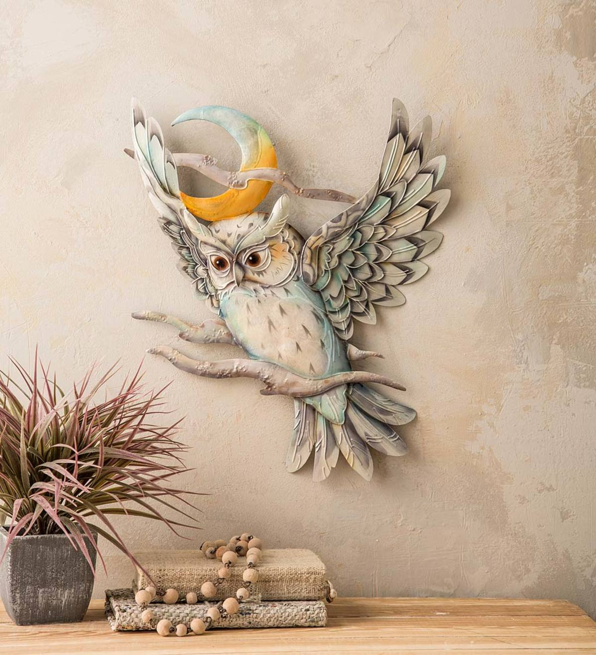 Fashionable Metal Capiz Wall Decor By Wrought Studio Inside Metal And Capiz Owl And Moon Wall Art (Gallery 7 of 20)
