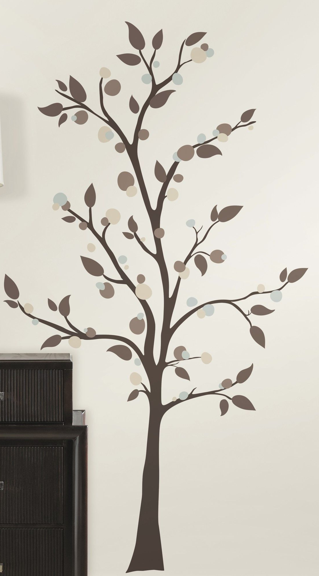 Favorite 47 Piece Deco Mod Tree Peel And Stick Giant Wall Decal Set With Regard To Tree Wall Décor By Winston Porter (View 13 of 20)