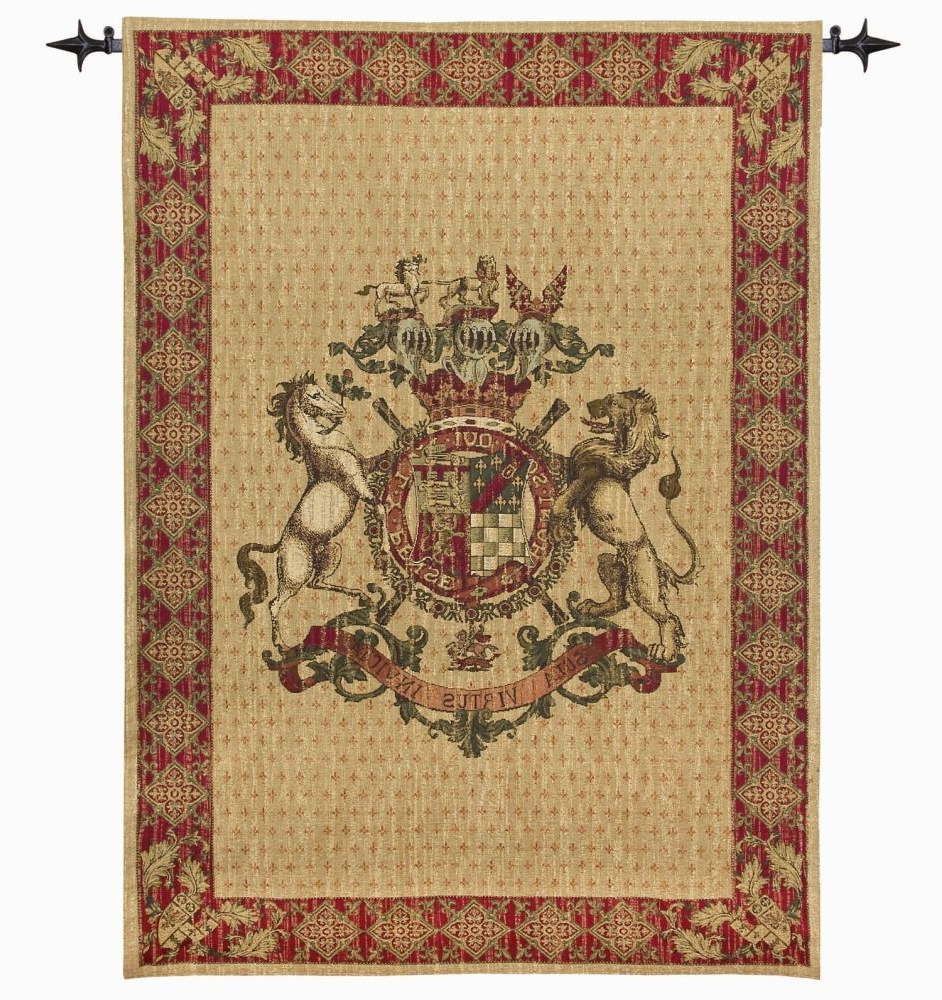 Favorite Armorial Coat Of Arms Tapestry For Grandes Armoiries I European Tapestries (View 16 of 20)