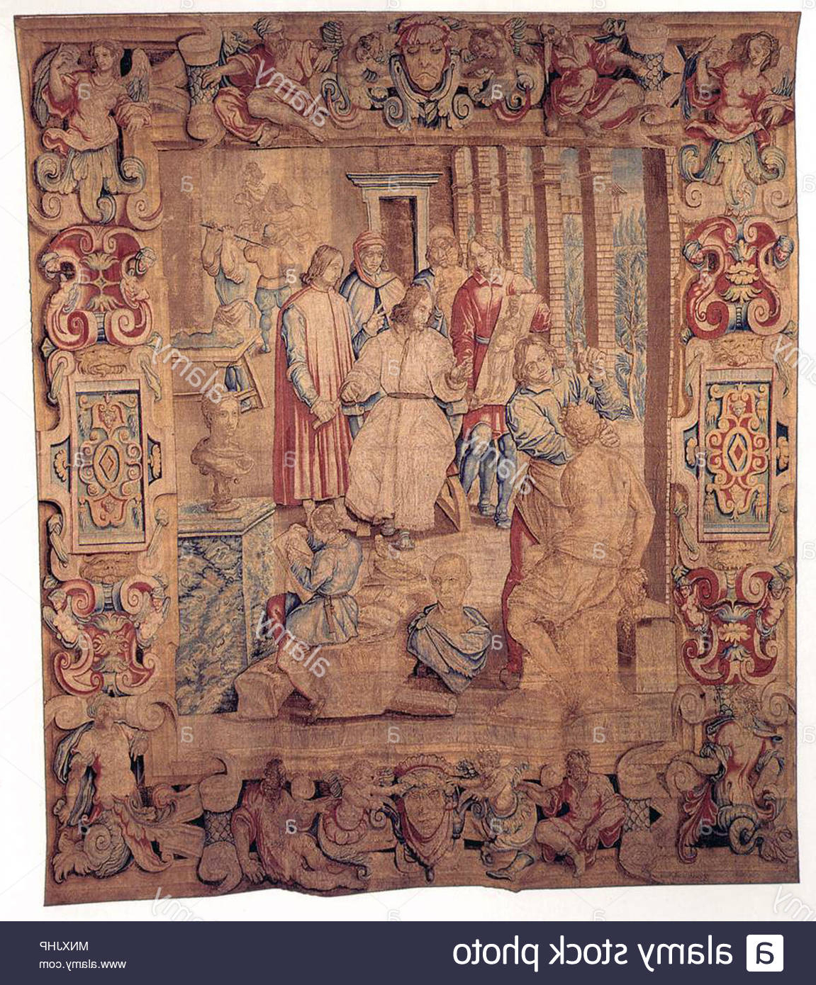 Favorite Blended Fabric Garden Of Gethsemane Tapestries And Wall Hangings Within Page 2 – Tapestry Garden High Resolution Stock Photography (View 12 of 20)