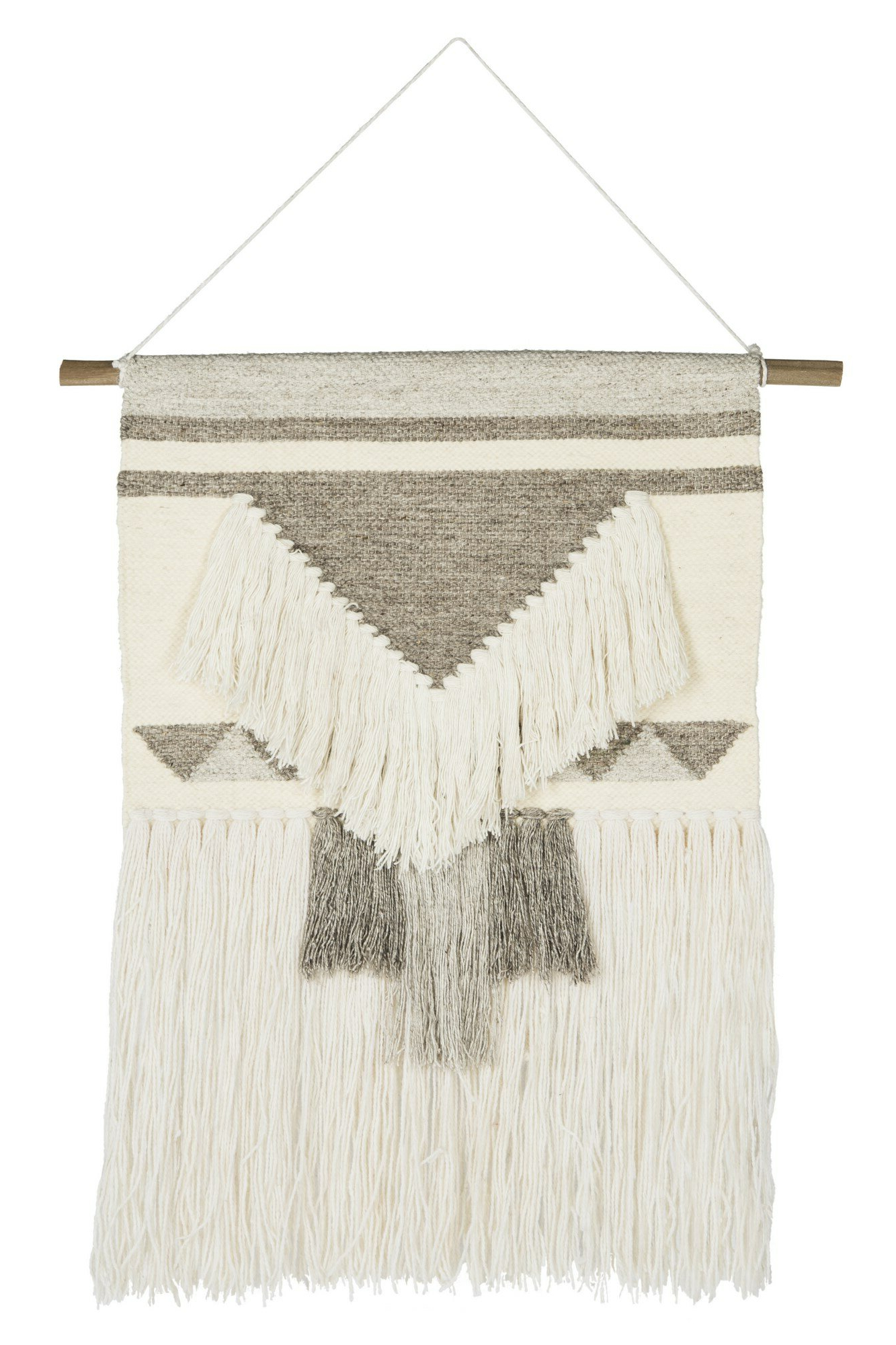 Favorite Blended Fabric Teresina Wool And Viscose Wall Hangings With Hanging Accessories Included Regarding Wool Wall Hanging (View 7 of 20)