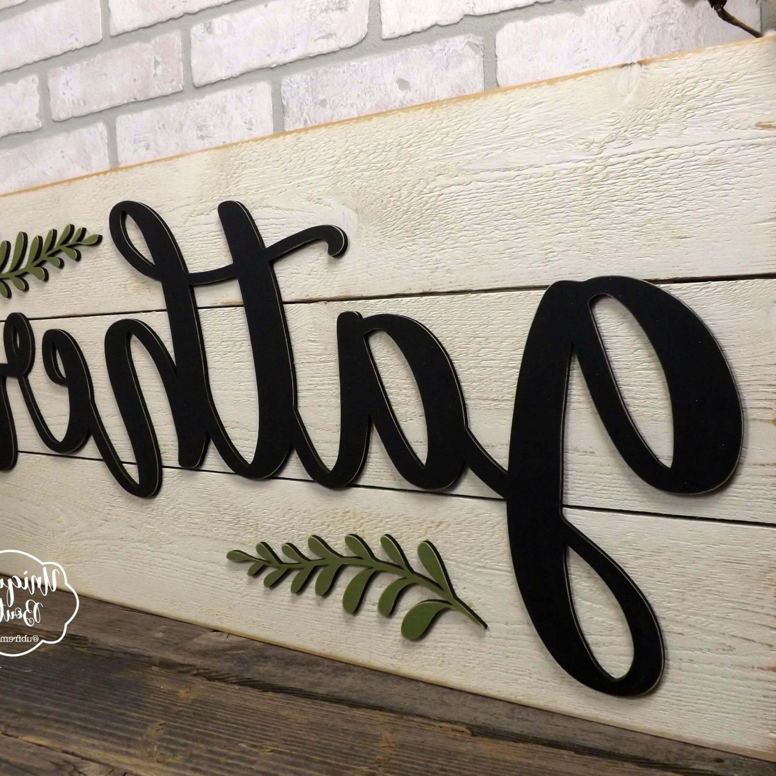 Favorite Gather Galvanized Metal Wall Décor Throughout 45+ Best Farmhouse Wall Decor Ideas And Designs For (View 19 of 20)