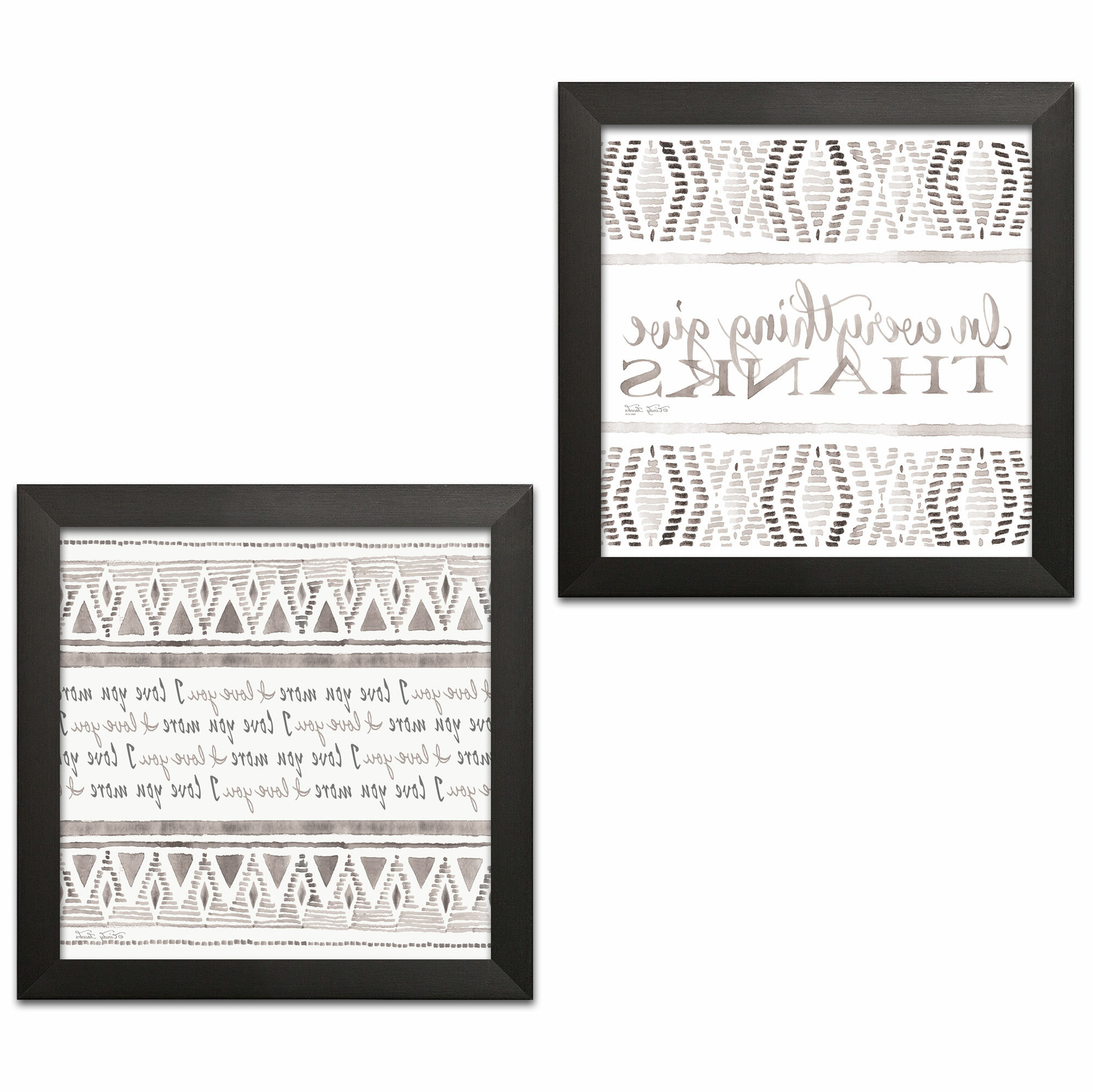 Favorite I Love You More Rectangle Textual Art Within 'i Love You More And In Everything Give Thanks' 2 Piece Textual Art Set (View 20 of 20)