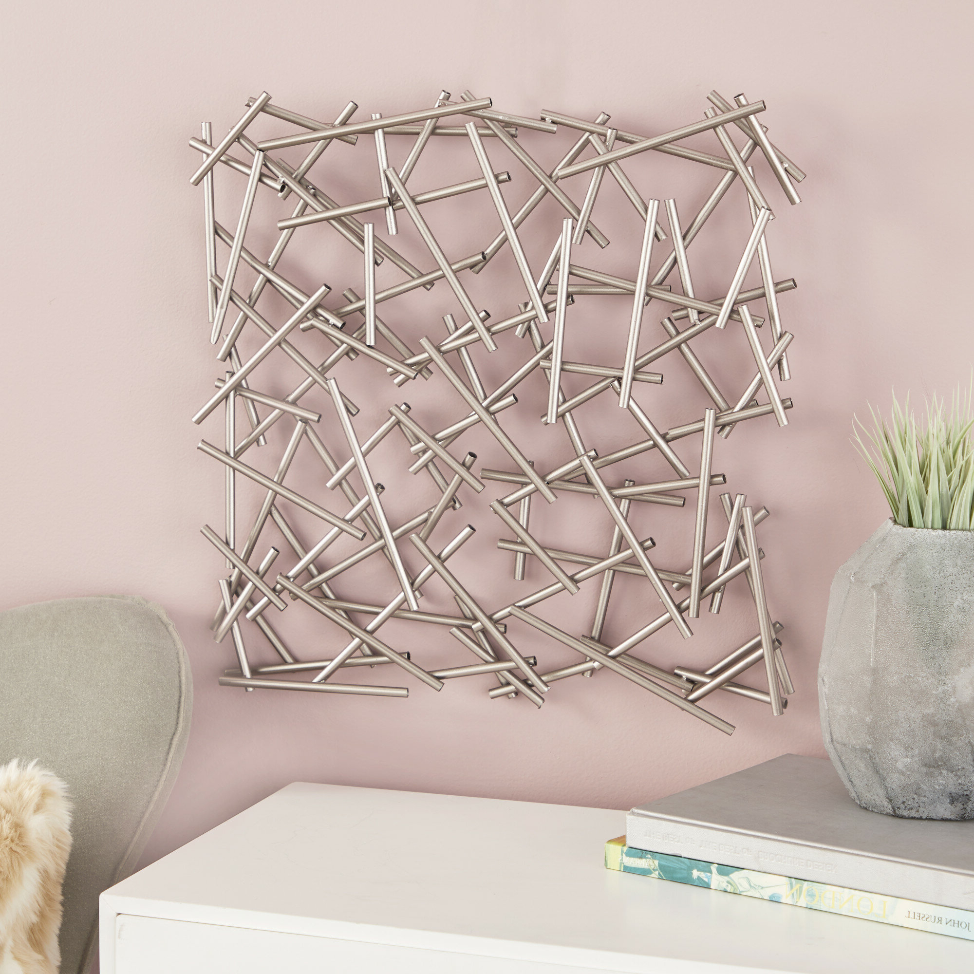 Favorite Metal Wall Décor Throughout Metal Wall Décor By Cosmoliving (View 16 of 20)
