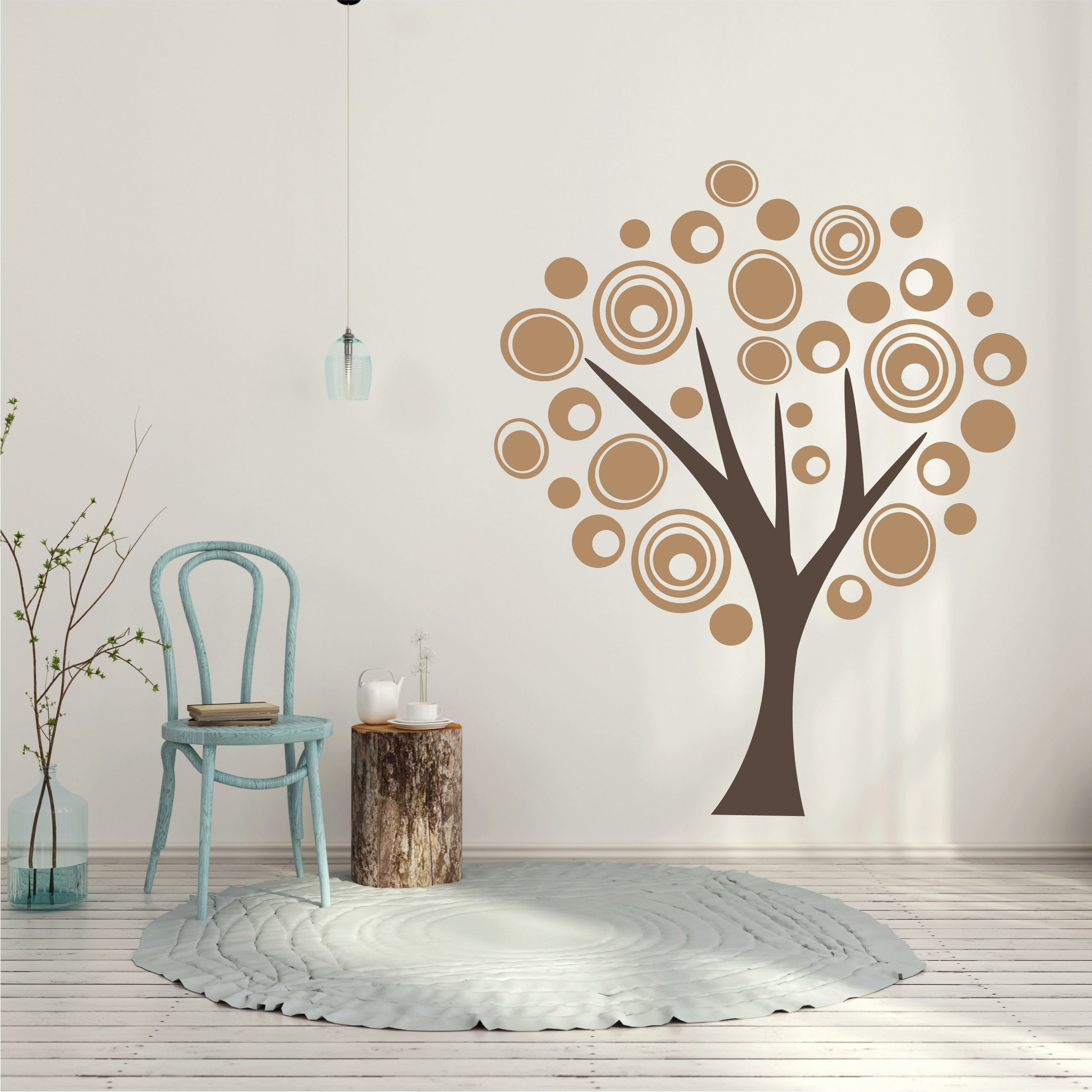 Favorite Tree Wall Décor By Winston Porter With Tree Modern Art Vinyl Wall Decal (View 18 of 20)