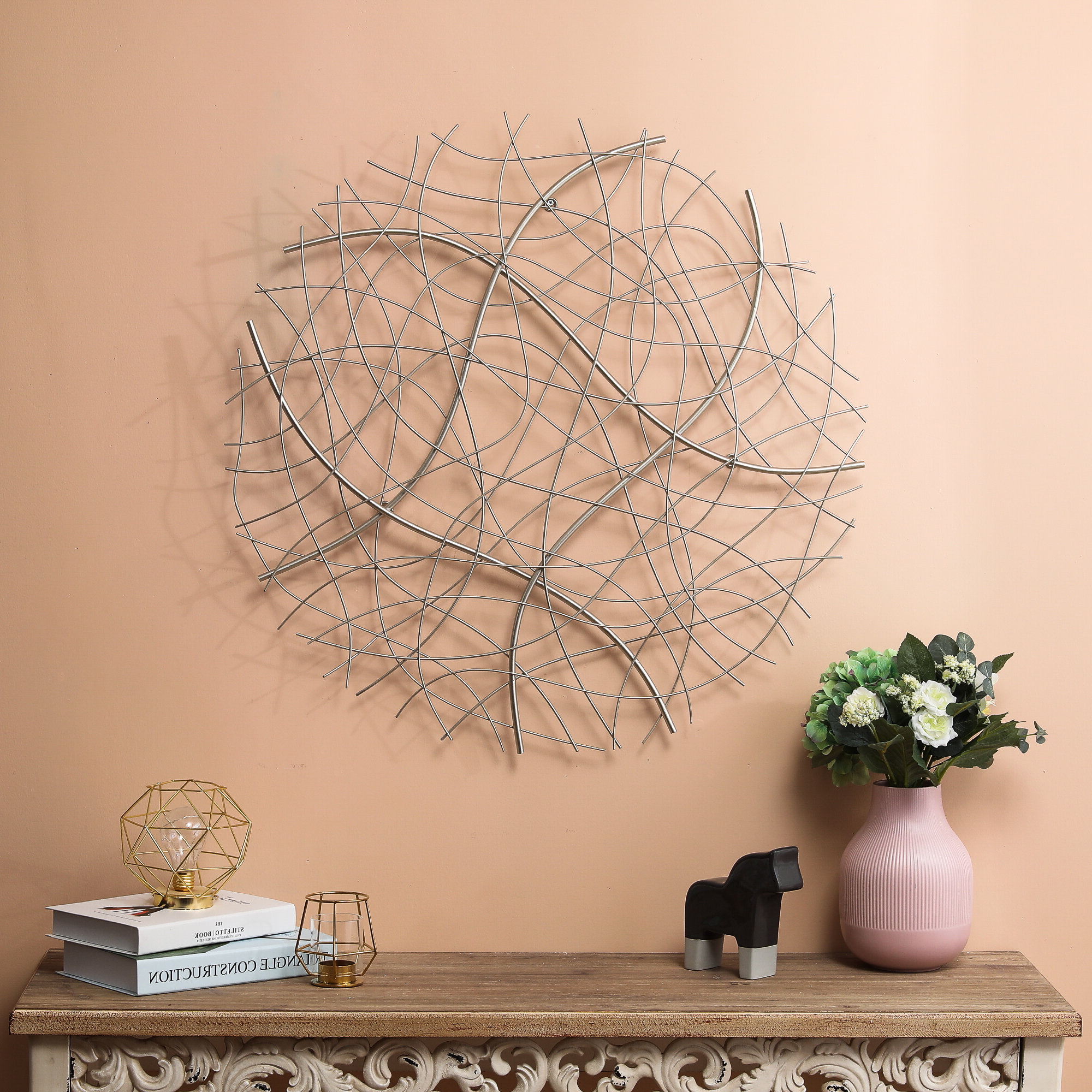 Favorite Wall Décor By Brayden Studio In Silver Brayden Studio® Wall Accents You'll Love In (View 19 of 20)