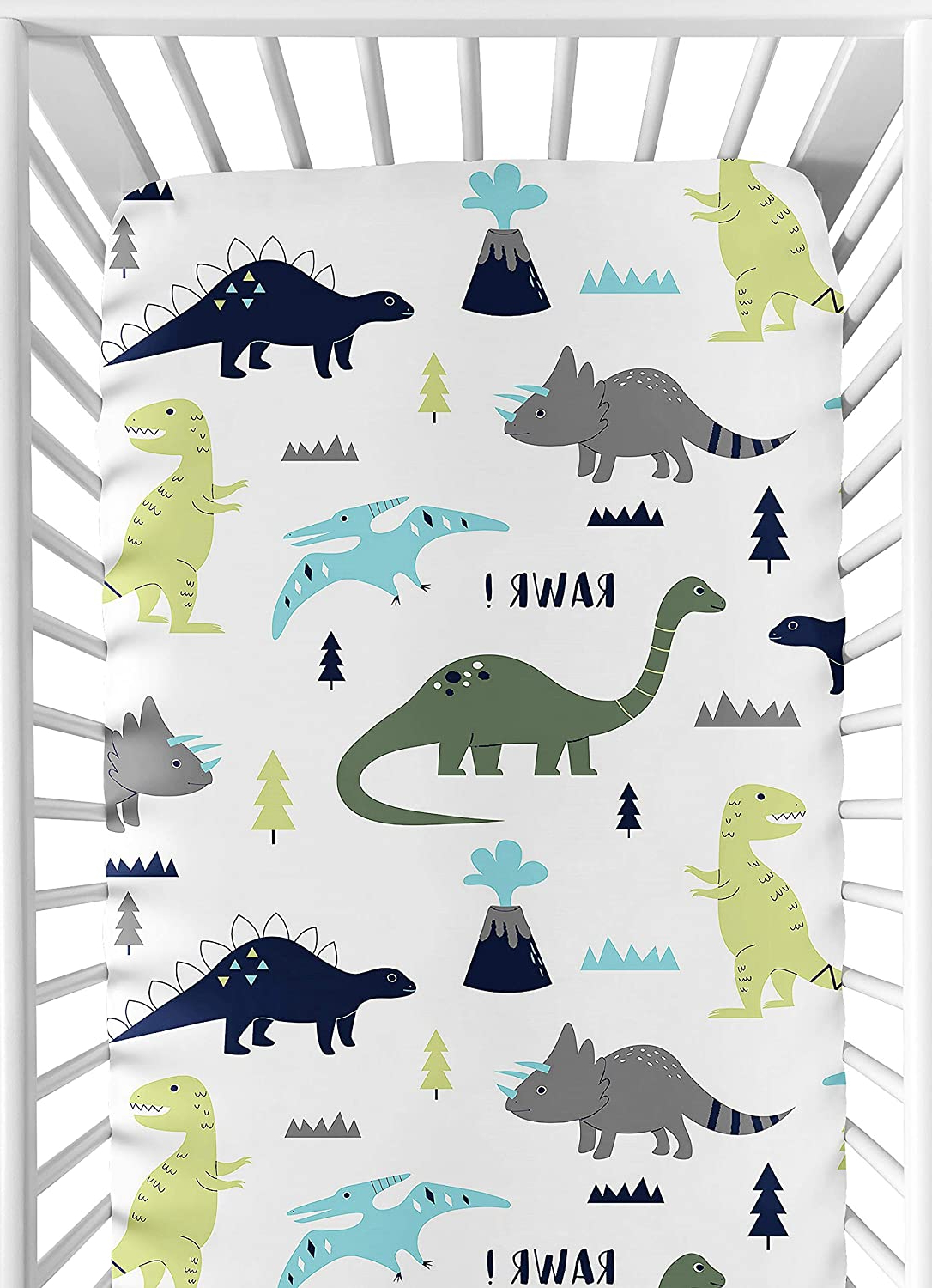 Featured Photo of Blended Fabric Mod Dinosaur 3 Piece Wall Hangings Set