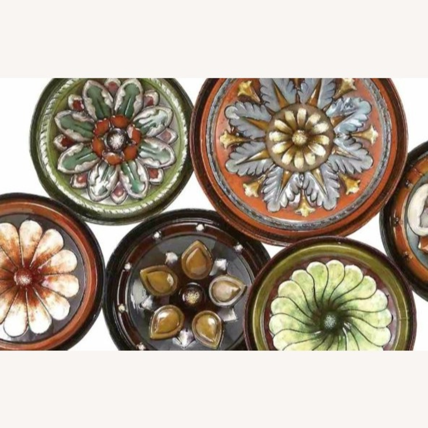Floral Plate Wall Décor By World Menagerie In Most Current Wolrd Menagerie Multi Color Floral Plates Wall Decor (View 12 of 20)