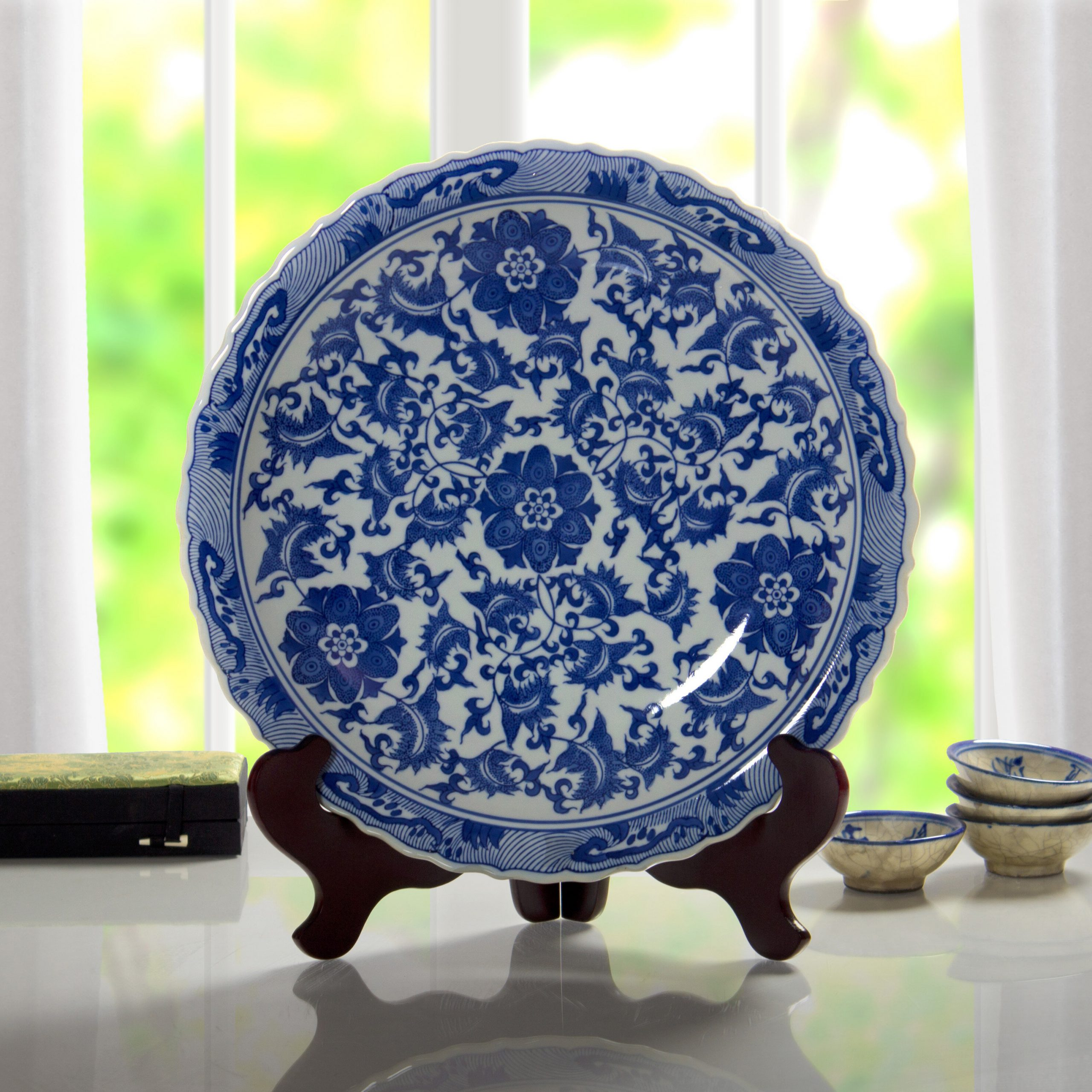 Floral Plate Wall Décor By World Menagerie In Recent Floral Decorative Plate (View 3 of 20)