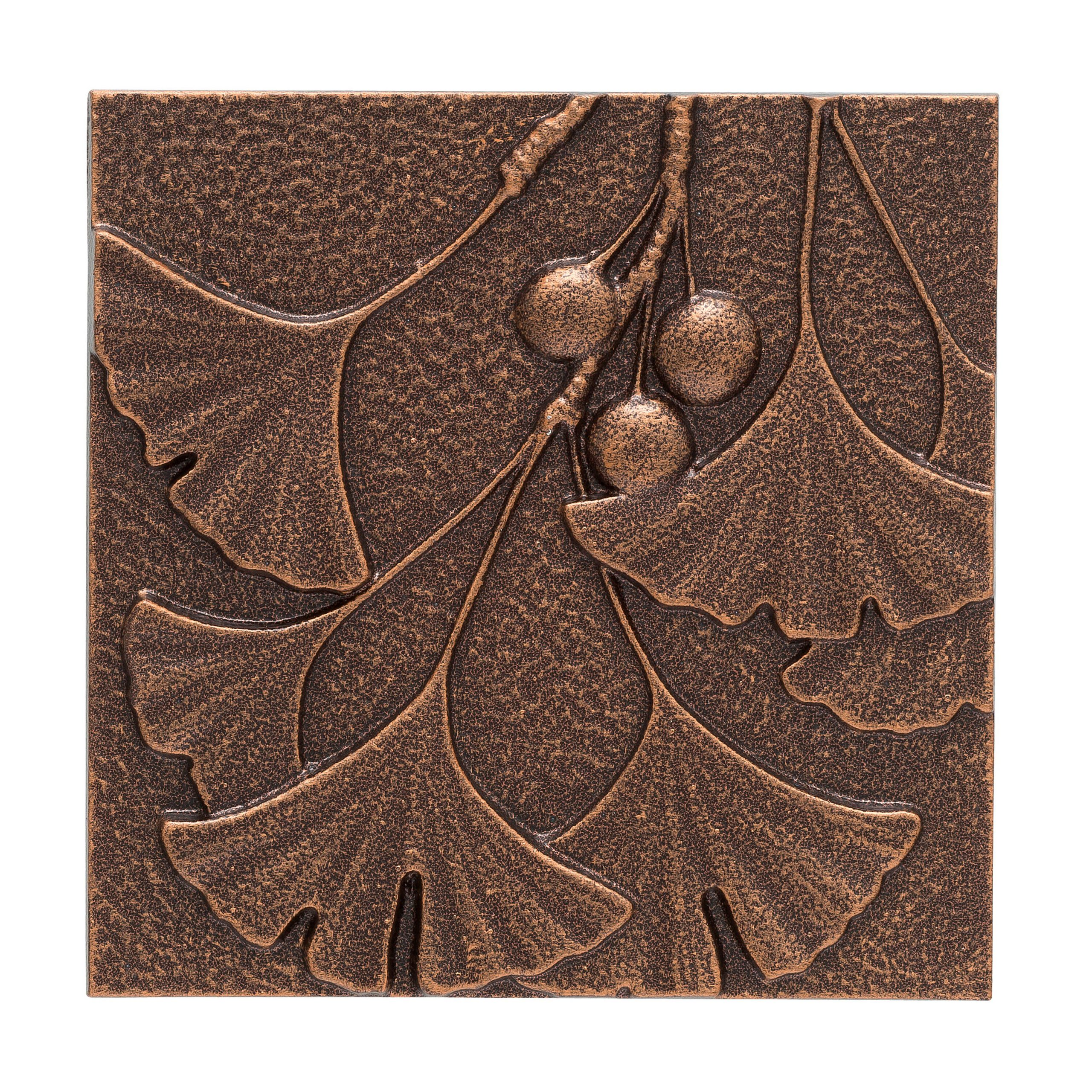 Ginkgo Leaf Metal Wall Décor By Winston Porter Pertaining To Most Up To Date Ginkgo Leaf Metal Wall Décor (View 2 of 20)