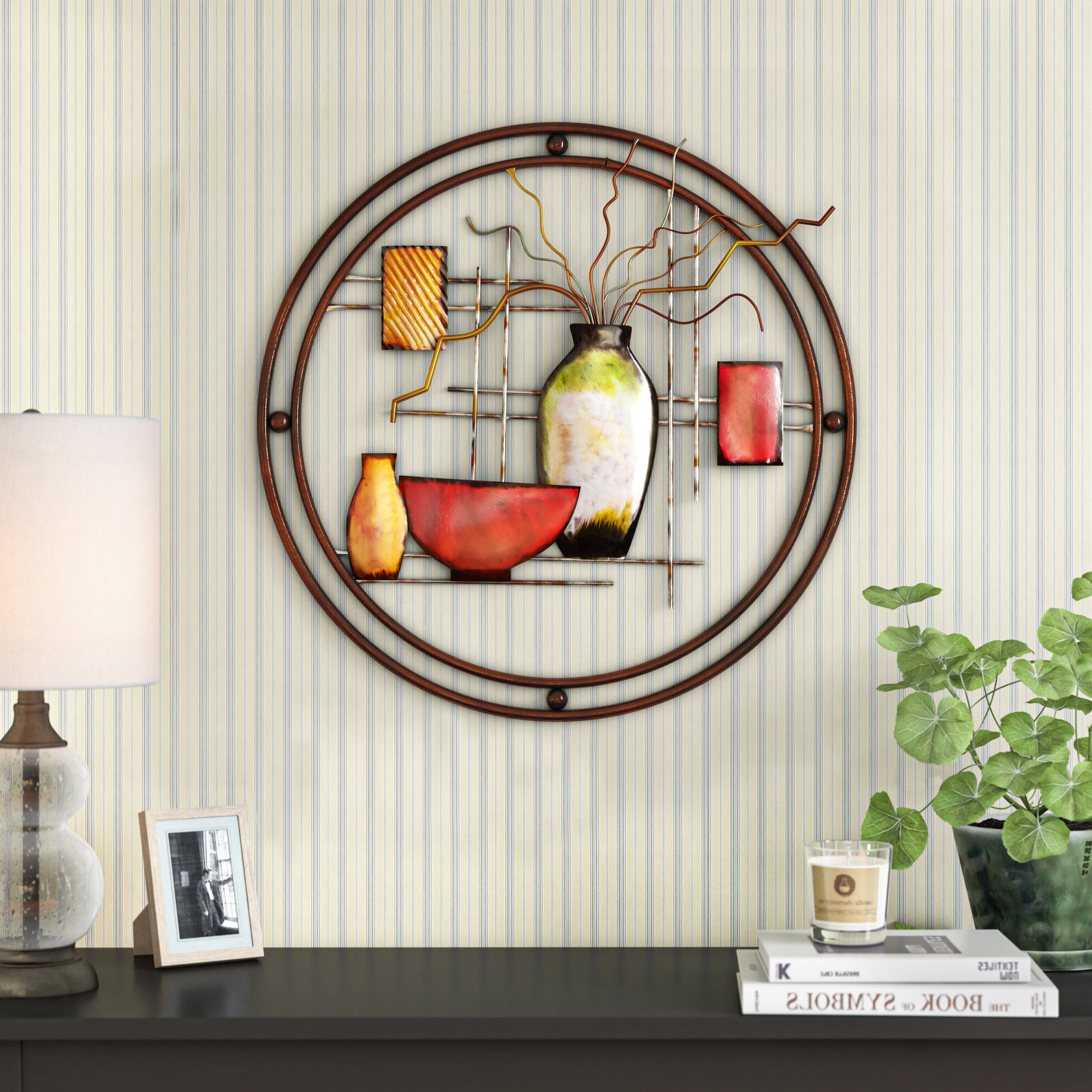 Ginkgo Leaf Metal Wall Décor By Winston Porter Within Well Known Copper Metal Wall Decor On Sale (View 12 of 20)