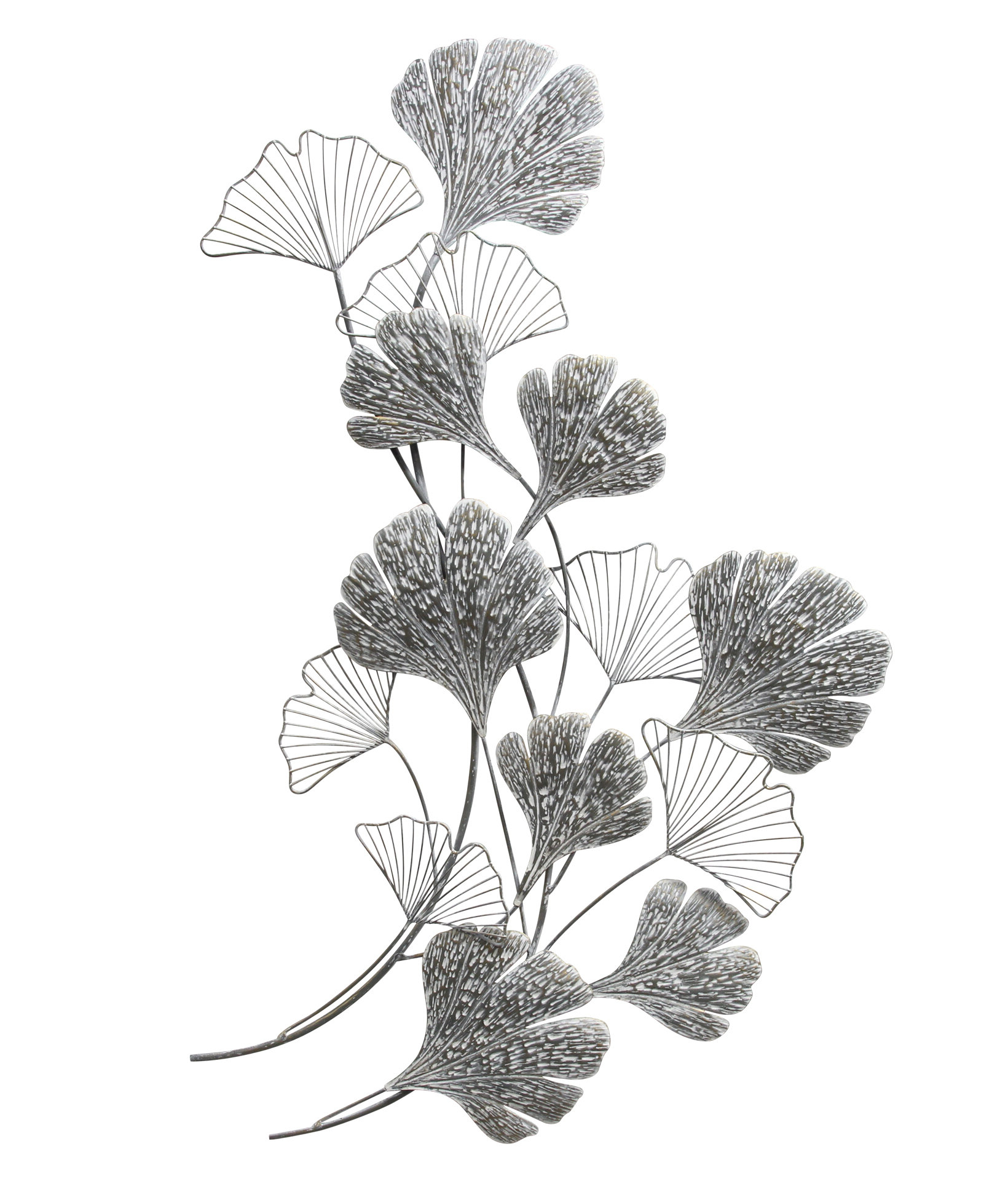 Ginkgo Metal Wall Décor For Favorite Ginkgo Leaf Metal Wall Décor By Winston Porter (View 16 of 20)