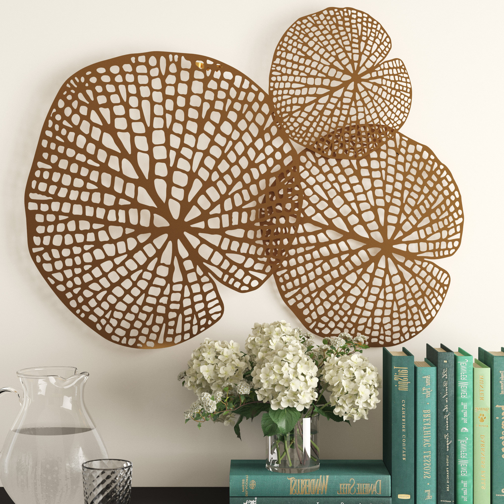 Gold Nautical Metal Wall Decor You'll Love In (View 19 of 20)