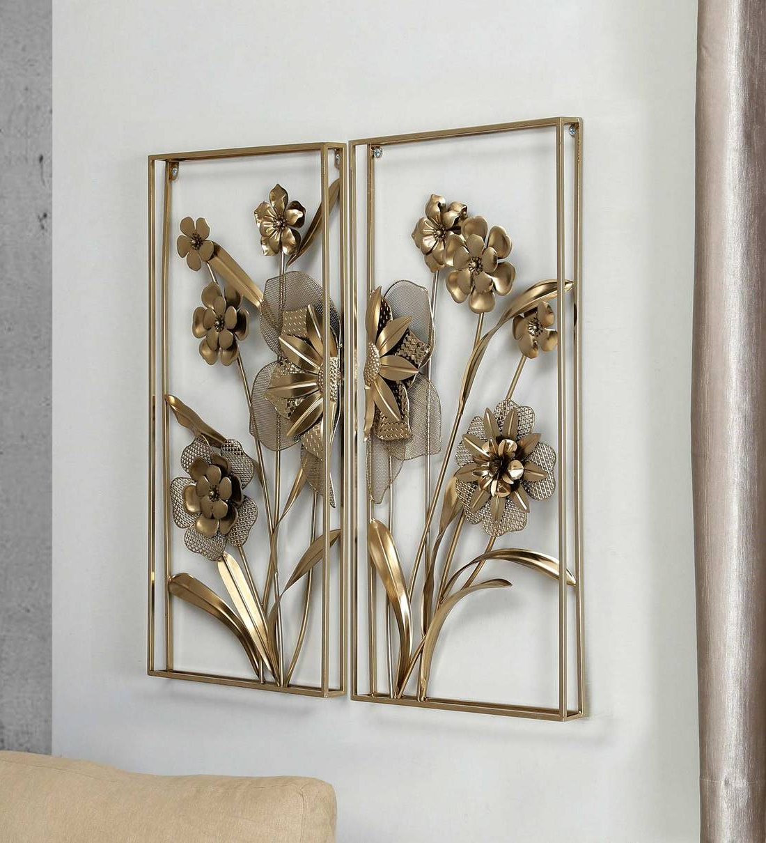 Golden Metal Wall Decor For Fashionable 'porch Rules' Metal Wall Décor (View 16 of 20)