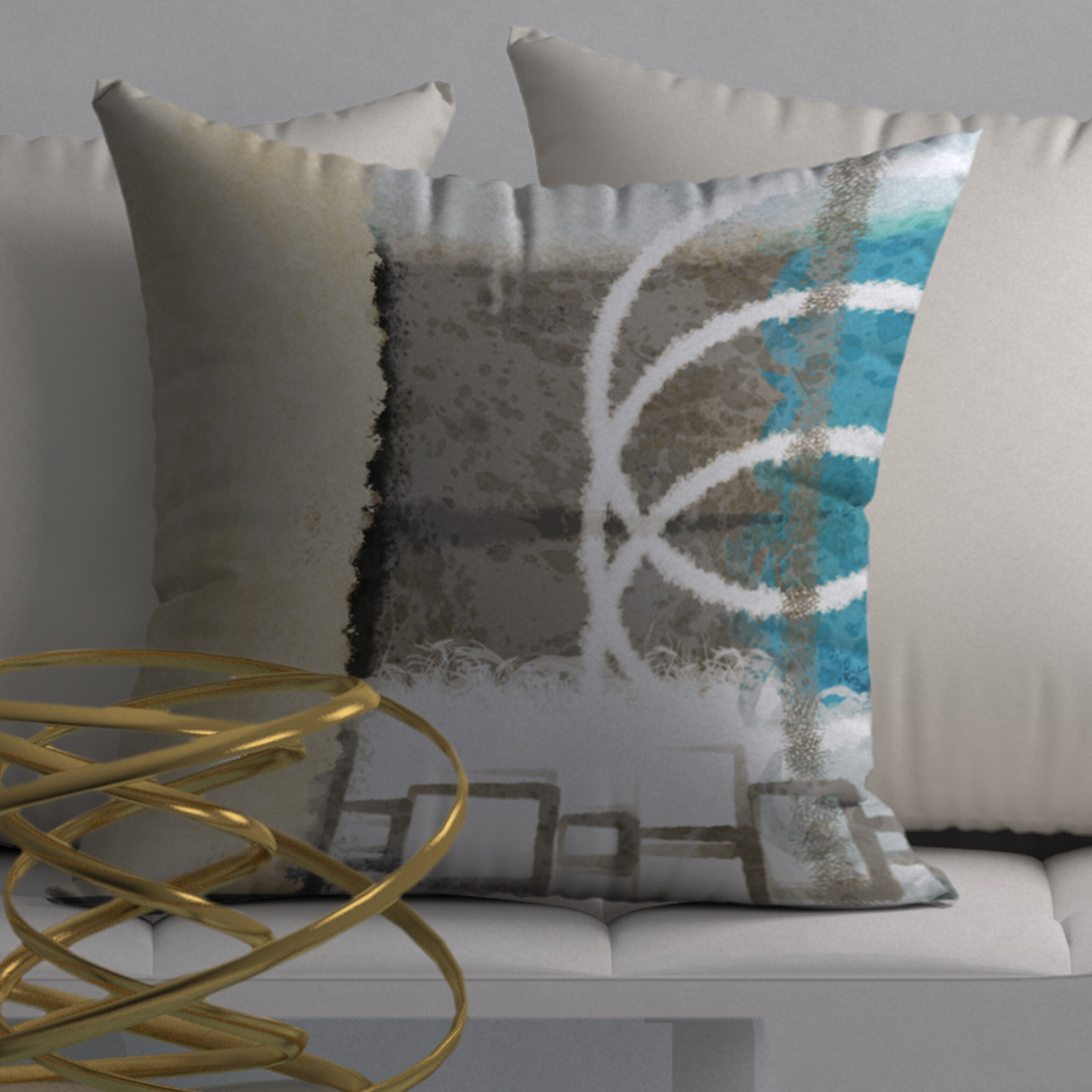 Graceful Wall Décor By Orren Ellis For Famous Special Graceful Square Pillow Cover & Insert (View 5 of 20)