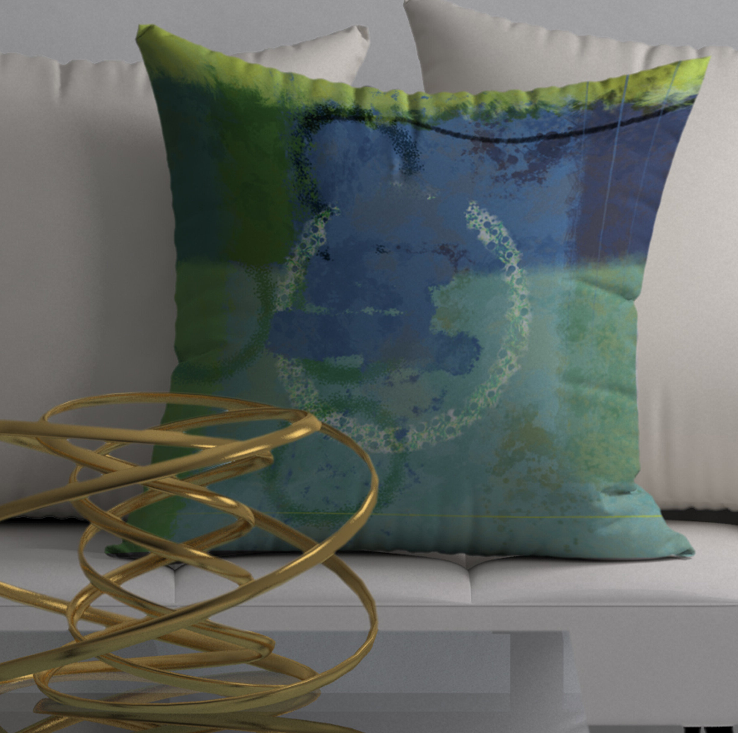 Graceful Wall Décor By Orren Ellis Pertaining To Most Recent Swell Graceful Square Pillow Cover & Insert (View 16 of 20)