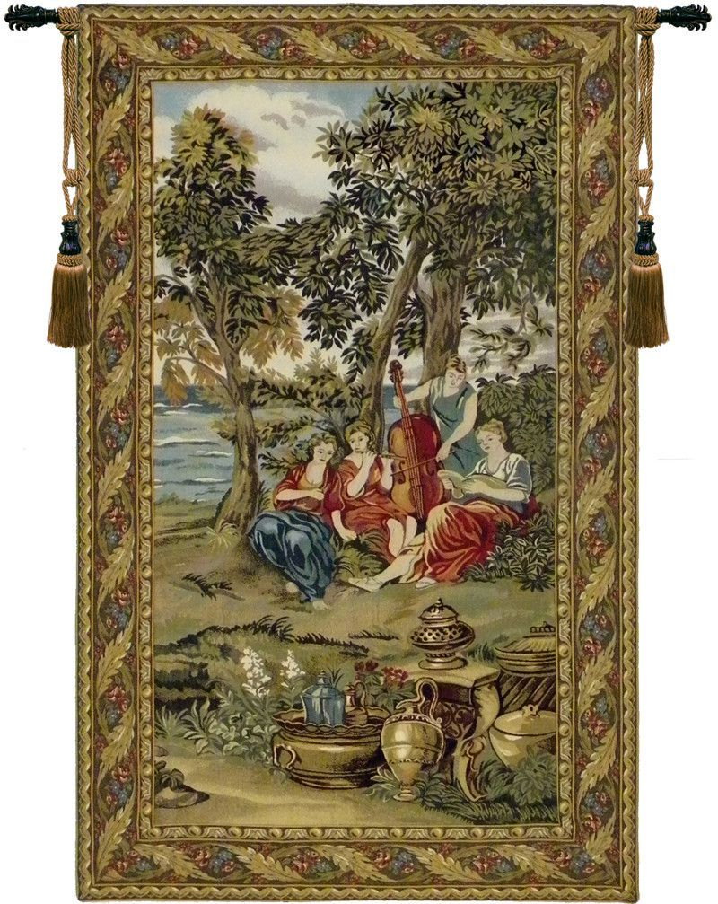 Grandes Armoiries I European Tapestries In Most Up To Date Concerto Tapestry Wall Hanging (View 4 of 20)