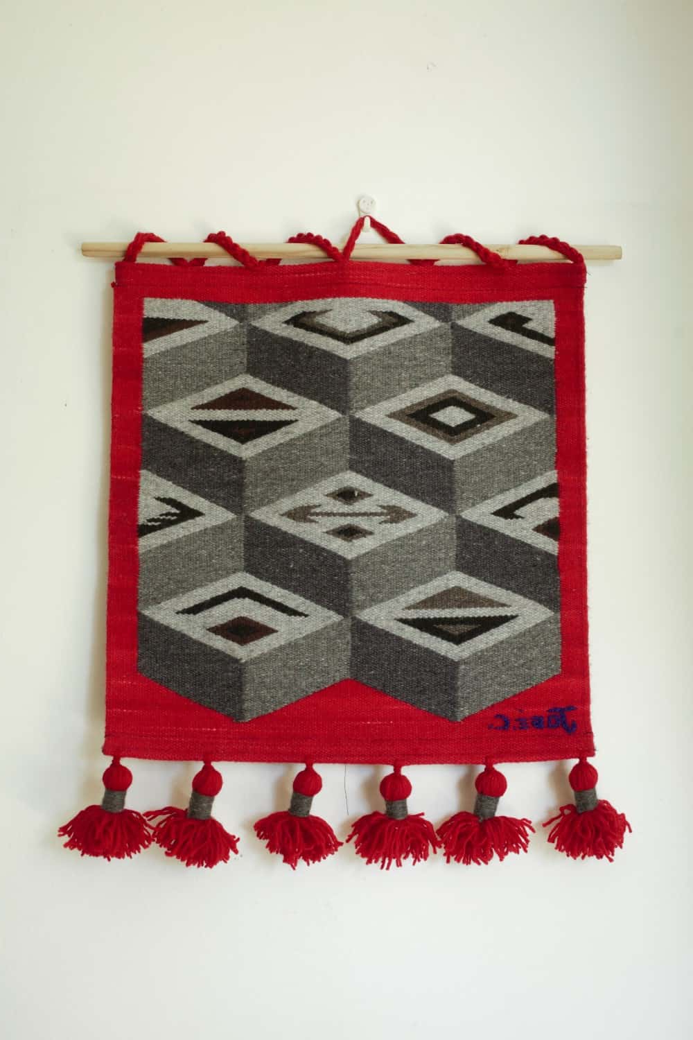 Hand Woven Wall Hangings – Geométrica Series Ct04gr With Regard To Well Known Hand Woven Wall Hangings (View 10 of 20)