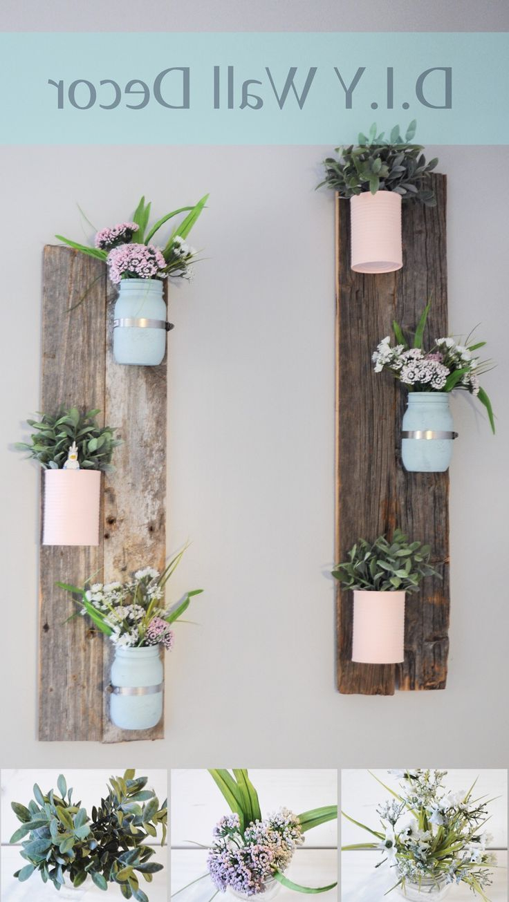 Home Decor Ideas That Can Create Your Home See More Costly With Regard To Fashionable Edyth Wood And Metal Wall Décor (View 10 of 20)