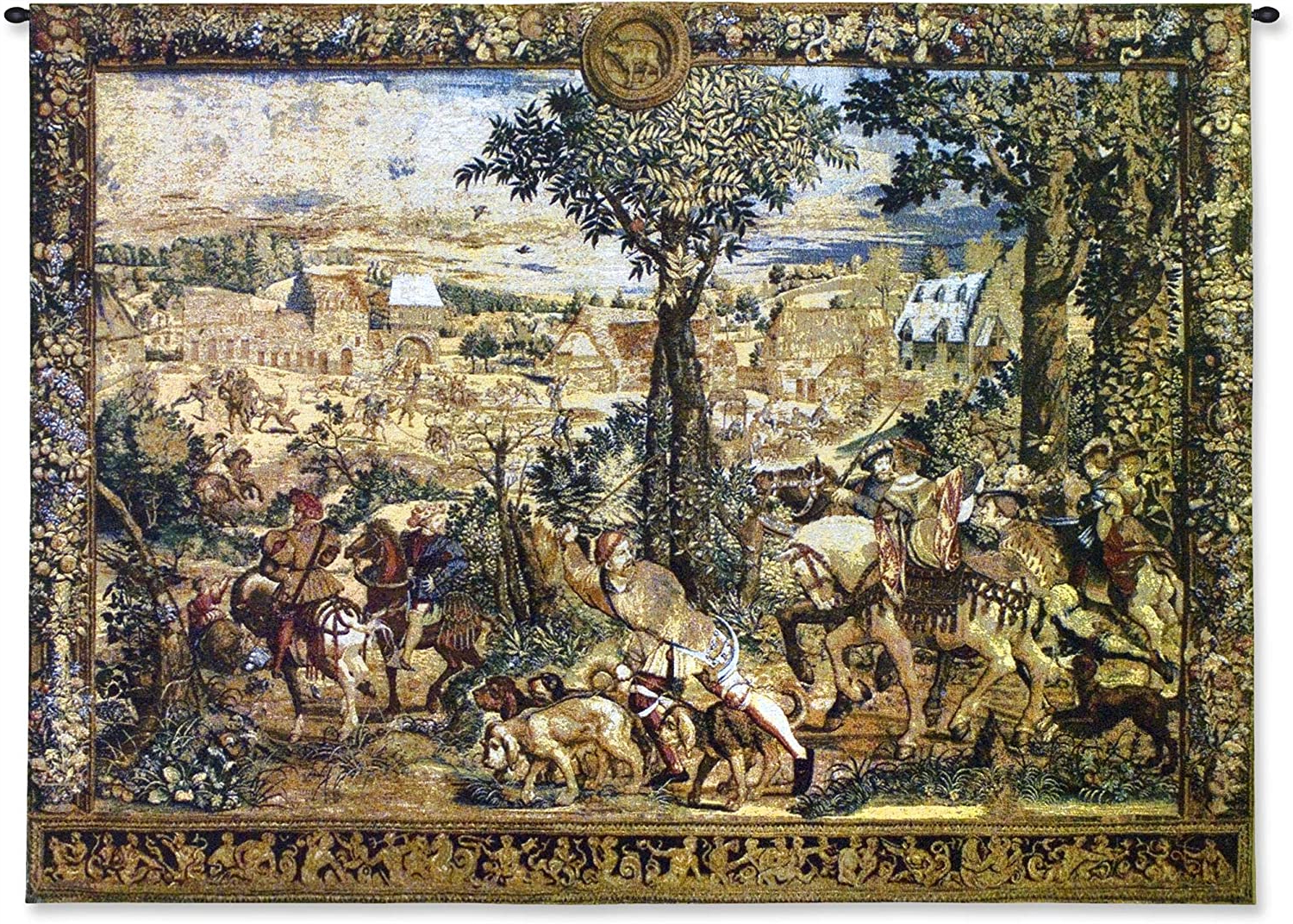 [%hunting Parties Of Archduke Maximilian | Woven Tapestry Wall Art Hanging | Intricate Renaissance Royal Hunting Scene | 100% Cotton Usa Size 53x40 With 2020 Blended Fabric Italian Wall Hangings|blended Fabric Italian Wall Hangings Within Newest Hunting Parties Of Archduke Maximilian | Woven Tapestry Wall Art Hanging | Intricate Renaissance Royal Hunting Scene | 100% Cotton Usa Size 53x40|well Known Blended Fabric Italian Wall Hangings Intended For Hunting Parties Of Archduke Maximilian | Woven Tapestry Wall Art Hanging | Intricate Renaissance Royal Hunting Scene | 100% Cotton Usa Size 53x40|famous Hunting Parties Of Archduke Maximilian | Woven Tapestry Wall Art Hanging | Intricate Renaissance Royal Hunting Scene | 100% Cotton Usa Size 53x40 Within Blended Fabric Italian Wall Hangings%] (View 19 of 20)