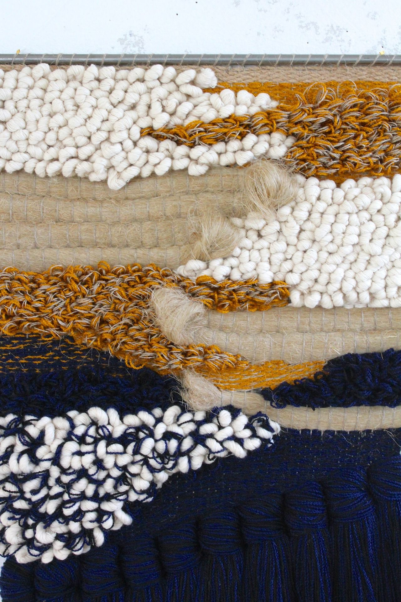 I Really Love The Textural Quality Of This Woven Material Pertaining To Newest Blended Fabric In His Tapestries And Wall Hangings (View 12 of 20)