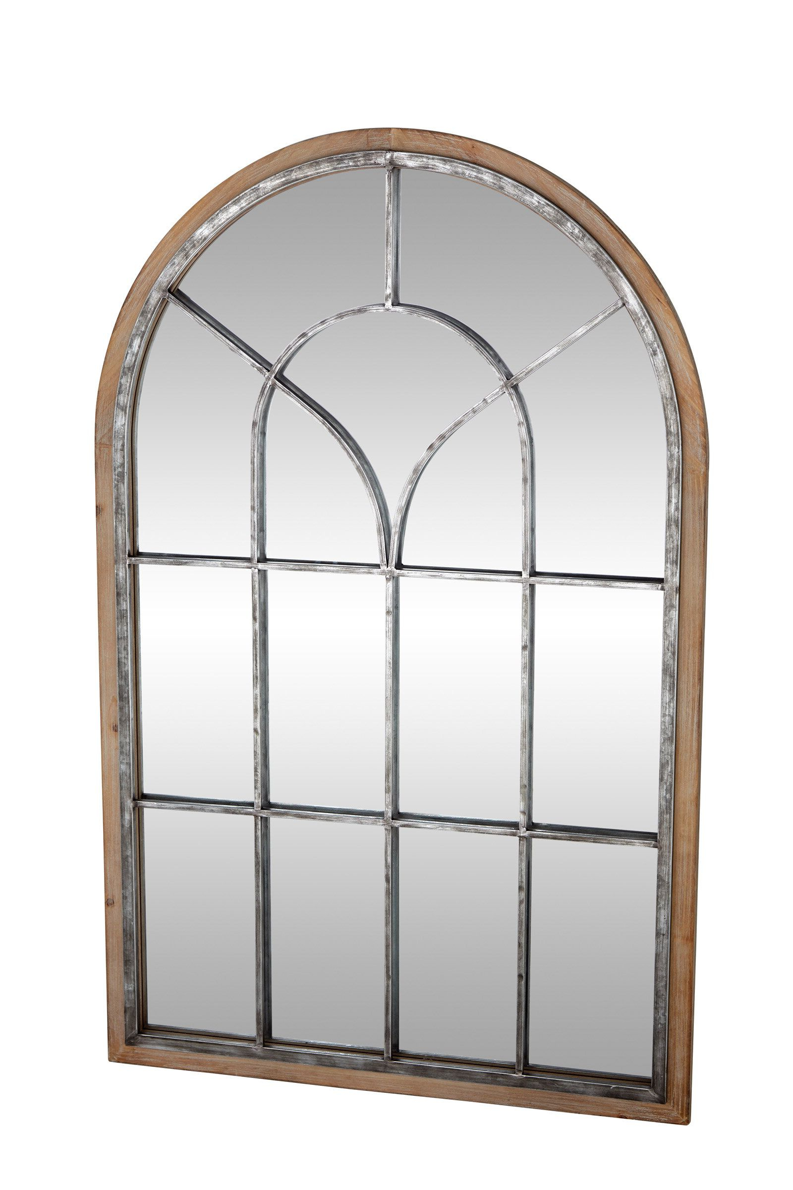 Kelly Clarkson Home Alison Arched Distressed Accent Mirror With Regard To Newest Arch Wall Décor By One Allium Way (View 13 of 20)