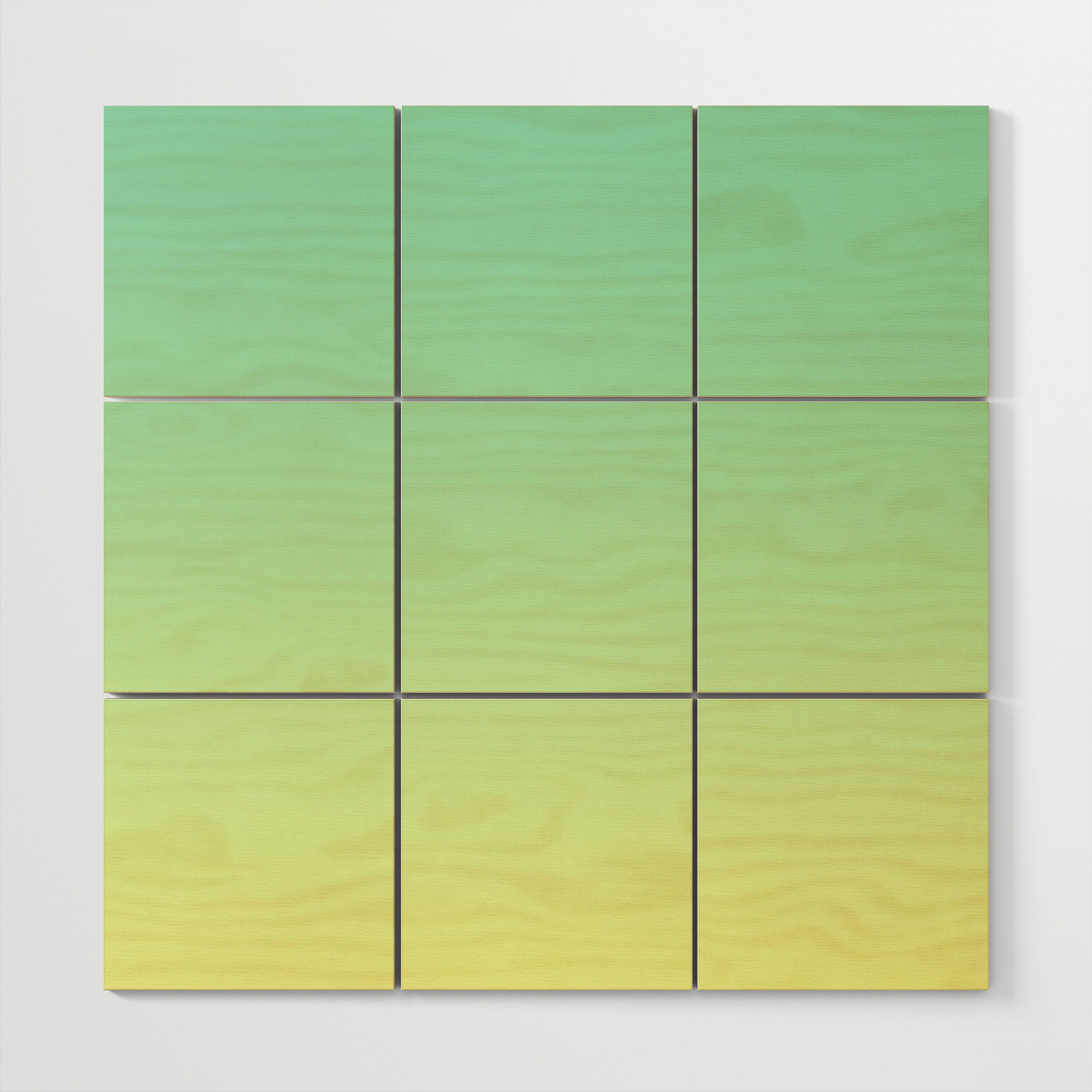 Lakethe Sea – Minimal Plain Soft Mood Color Blend Prints Wood Wall Art Burning Intended For Widely Used Blended Fabric Lago Di Como Ii Wall Hangings (View 12 of 20)