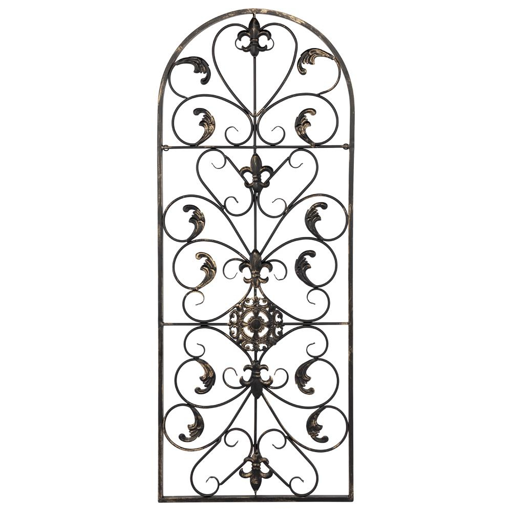 Featured Photo of Antique Iron Alloy Wall Décor