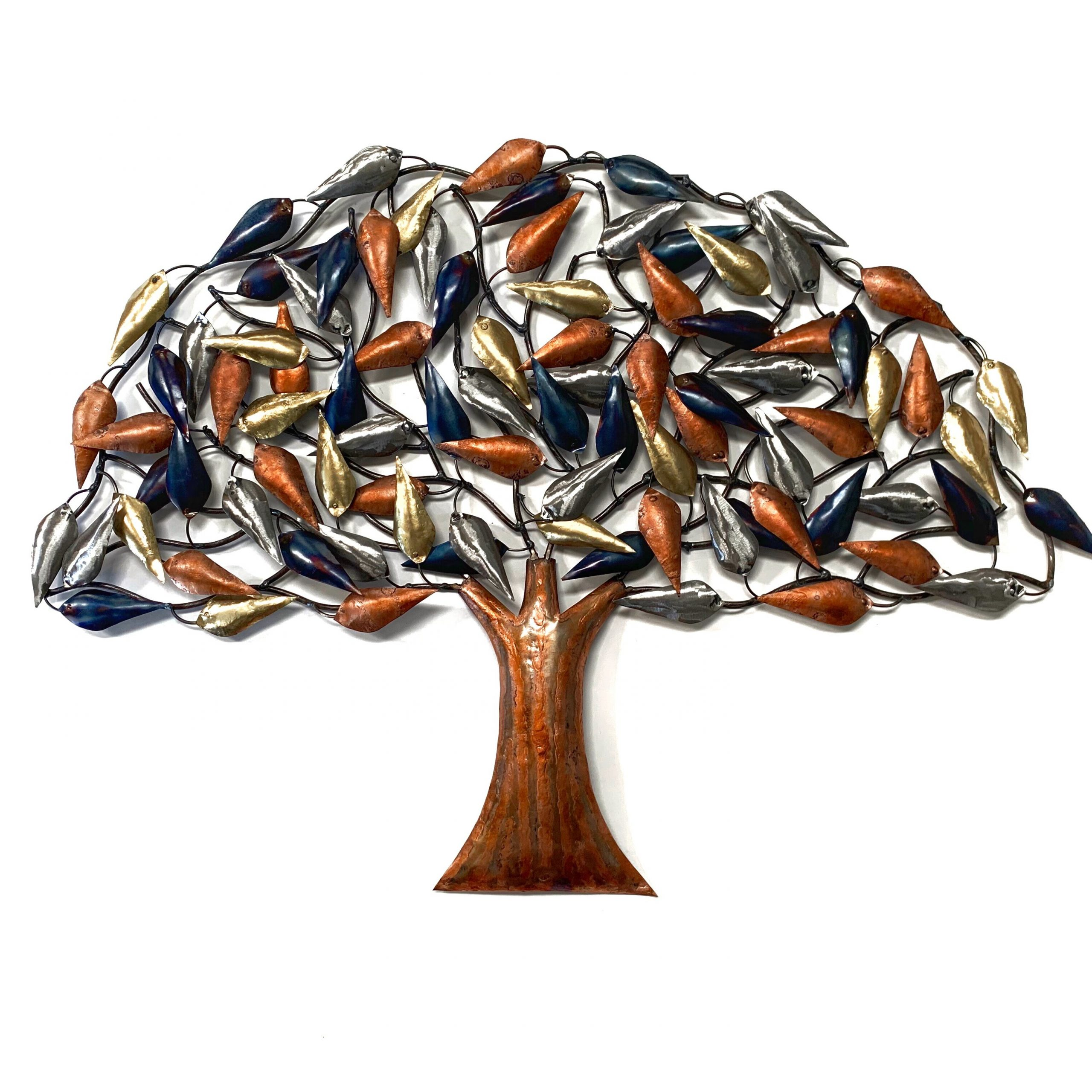 Latest Abstract Tree Wall Décor By Winston Porter Within Metal Tree Wall Décor (View 5 of 20)