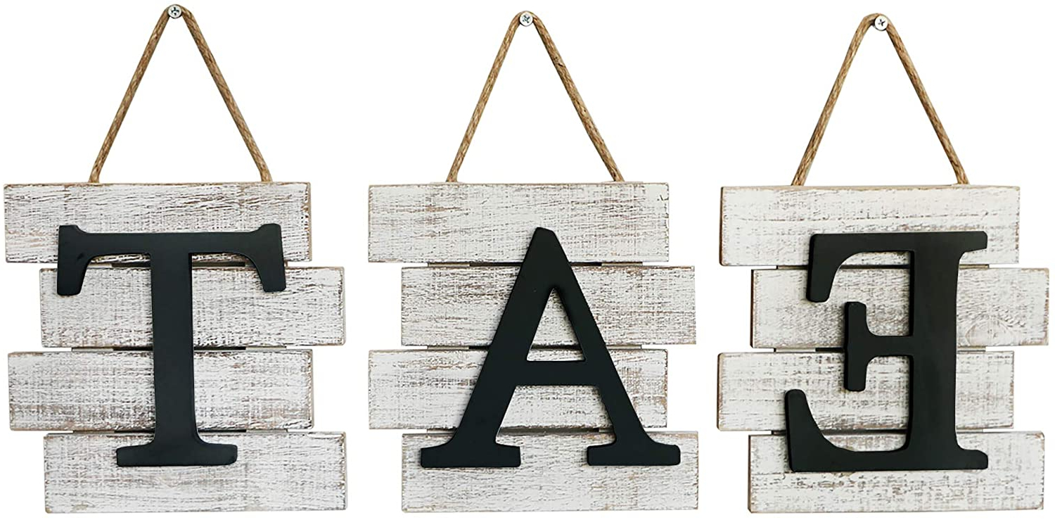 Latest Barnyard Designs Eat Sign Wall Decor, Rustic Farmhouse Decoration For Kitchen And Home, Decorative Hanging Wooden Letters, Country Wall Art, With Regard To Eat Rustic Farmhouse Wood Wall Décor (View 4 of 20)