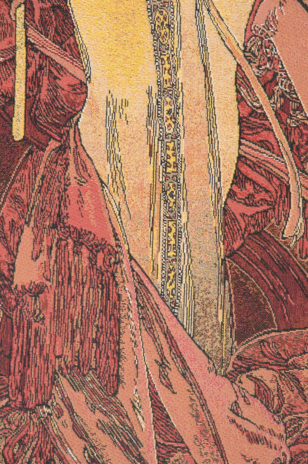 Latest Blended Fabric Mucha Autumn European Wall Hangings Throughout Amazon: Charlotte Home Furnishings Inc (View 4 of 20)