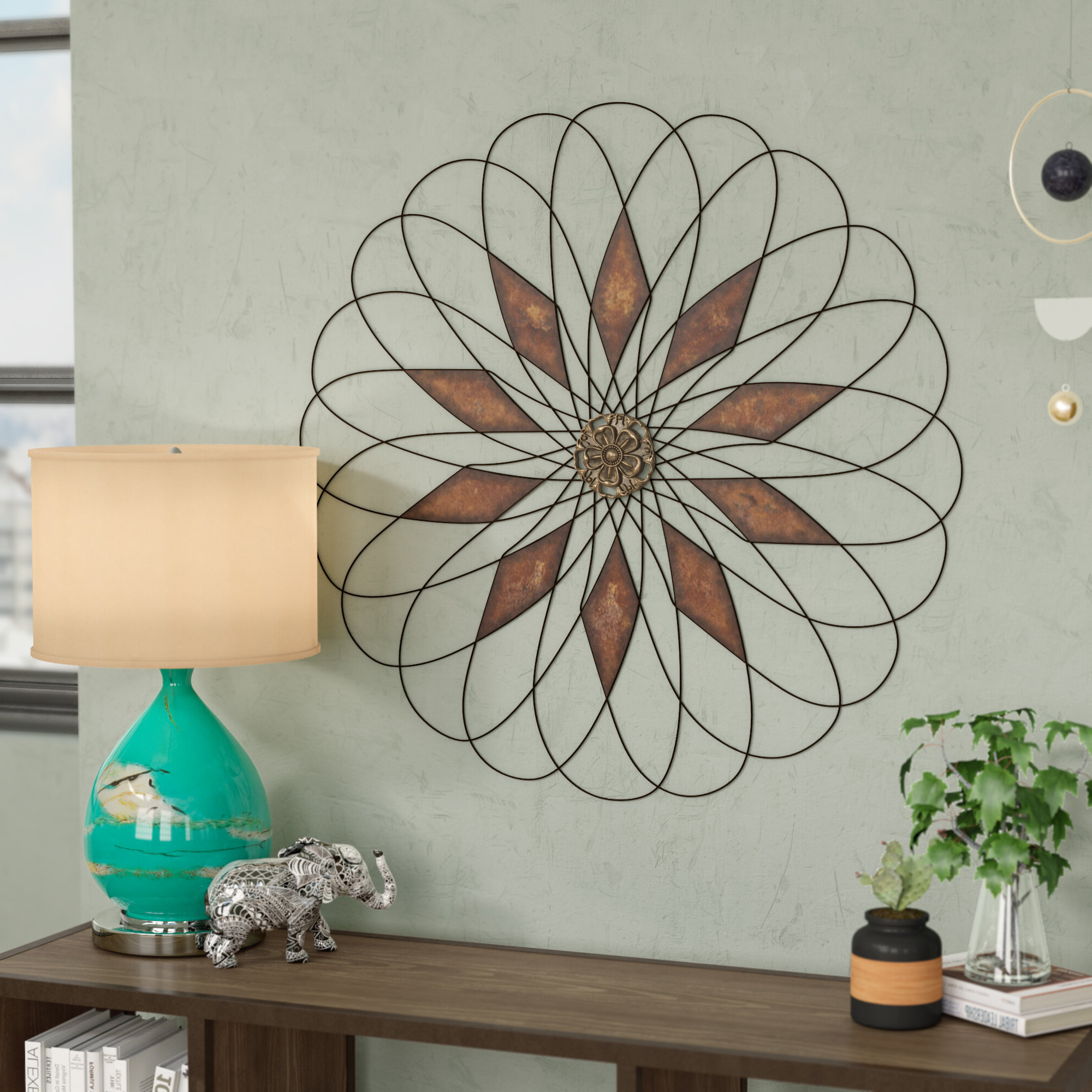 Latest Metal Capiz Wall Decor By Wrought Studio Pertaining To Wall Decor (View 14 of 20)