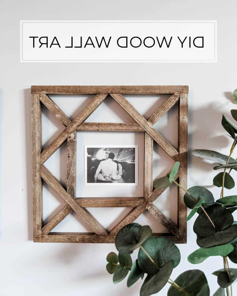 Latest Square Wood Wall Décor Throughout Make These Diy Wood Squares For Wall Decor (View 7 of 20)